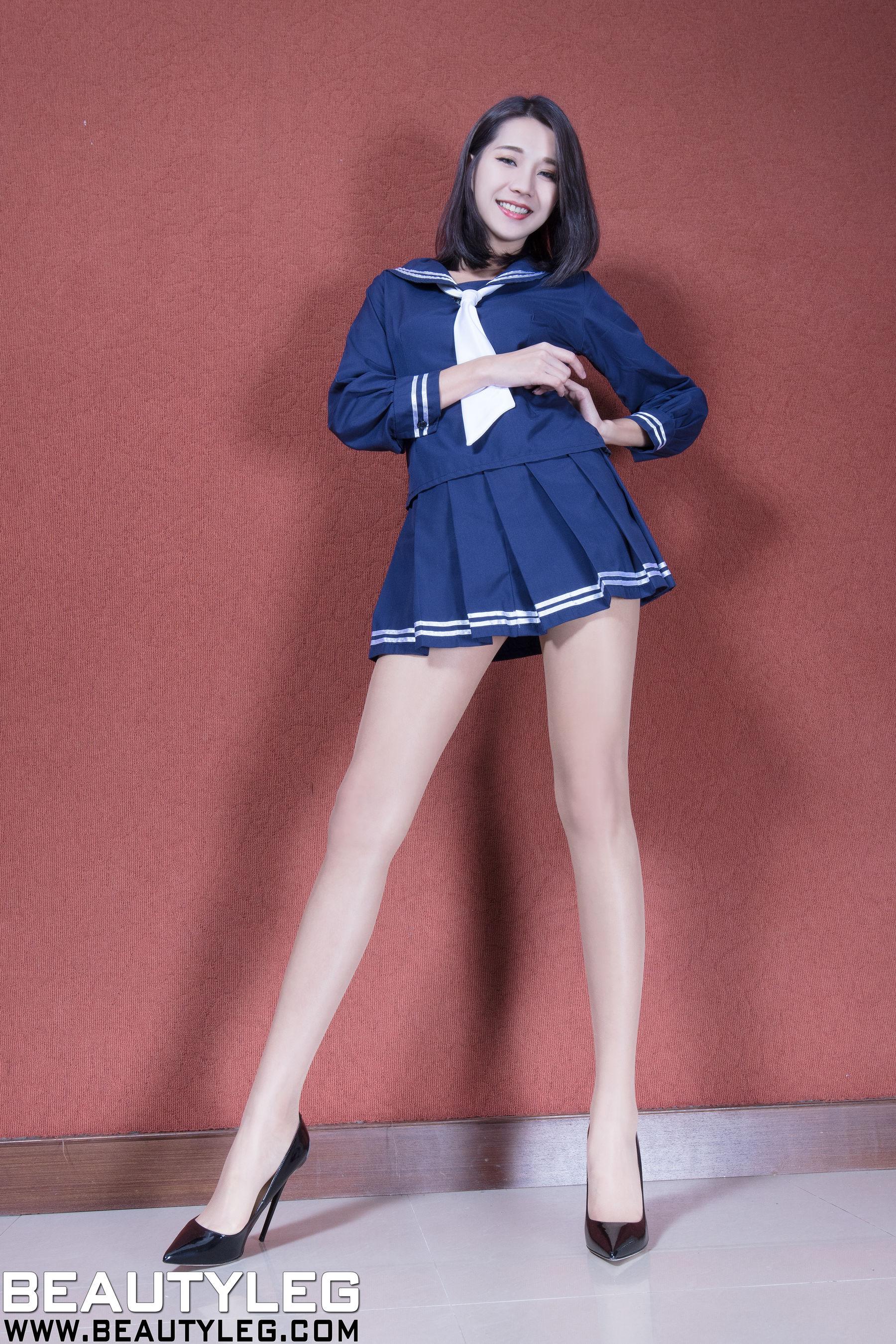 VOL.1273 [Beautyleg]制服长腿美女:林千如(腿模Anita)超高清个人性感漂亮大图(57P)
