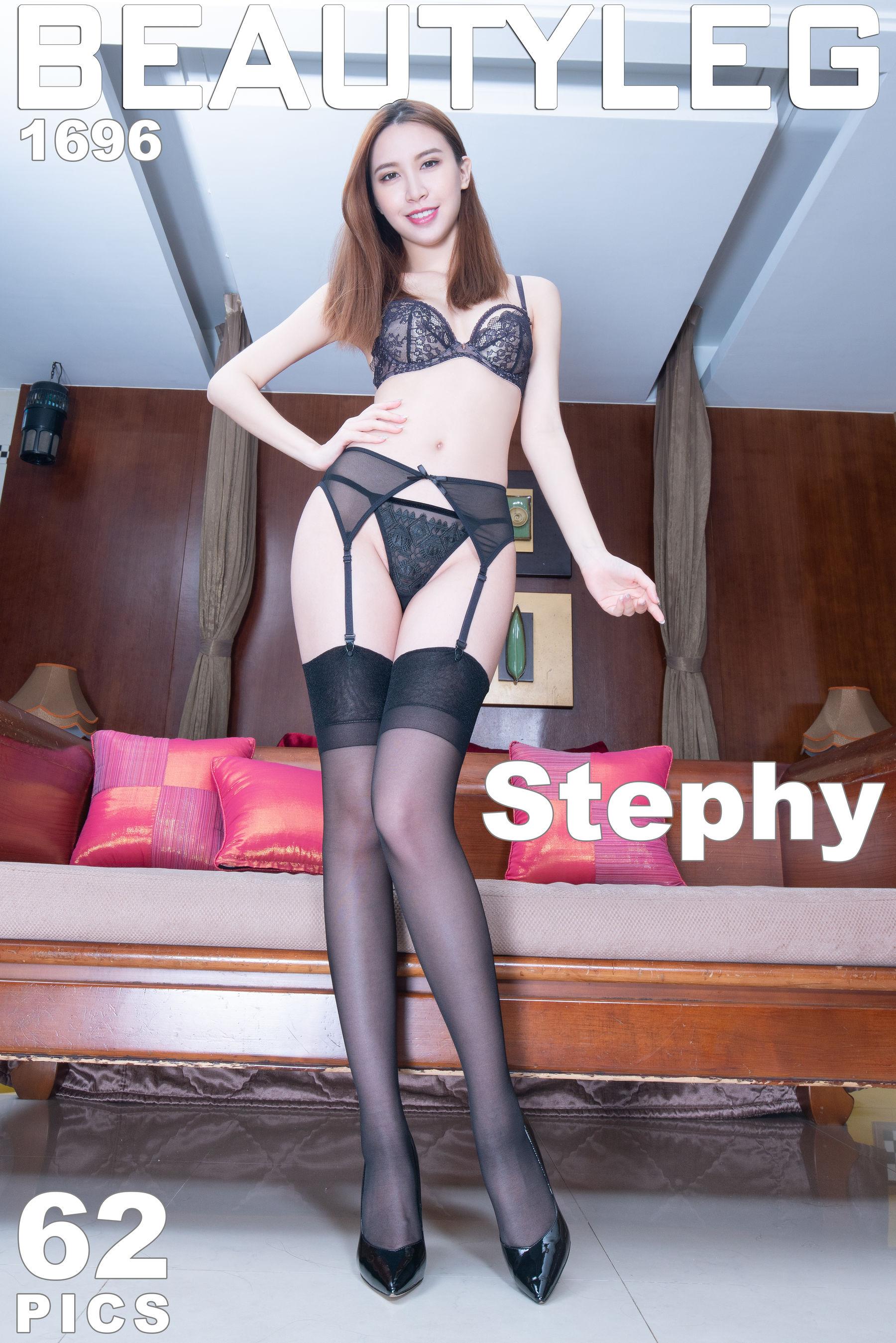VOL.686 [Beautyleg]丝袜美腿高跟美腿:崔多朵(崔德蓉,腿模Stephy)超高清个人性感漂亮大图(54P)