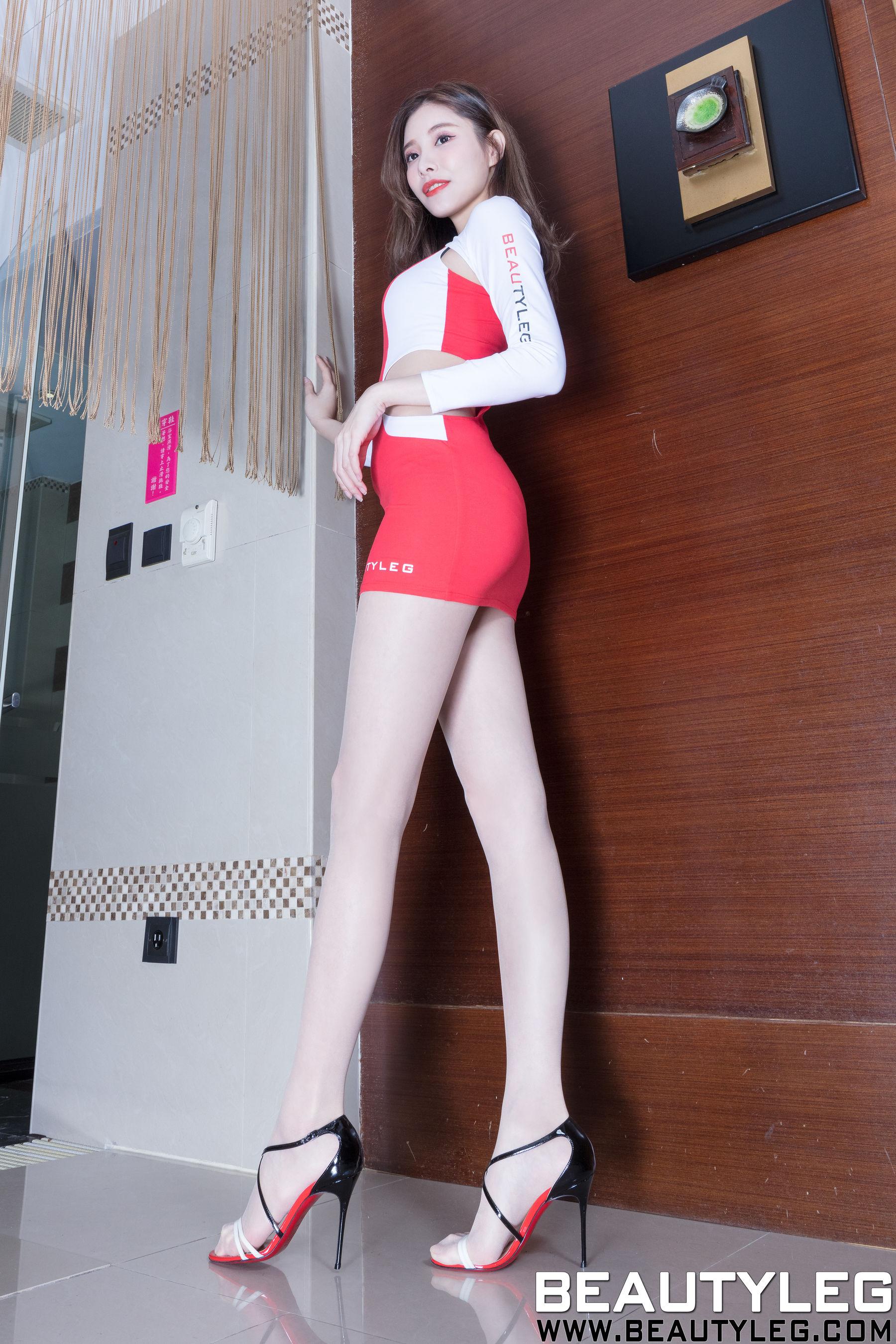 VOL.1452 [Beautyleg]制服高跟美腿:陈玉雪(腿模Abby)超高清个人性感漂亮大图(42P)