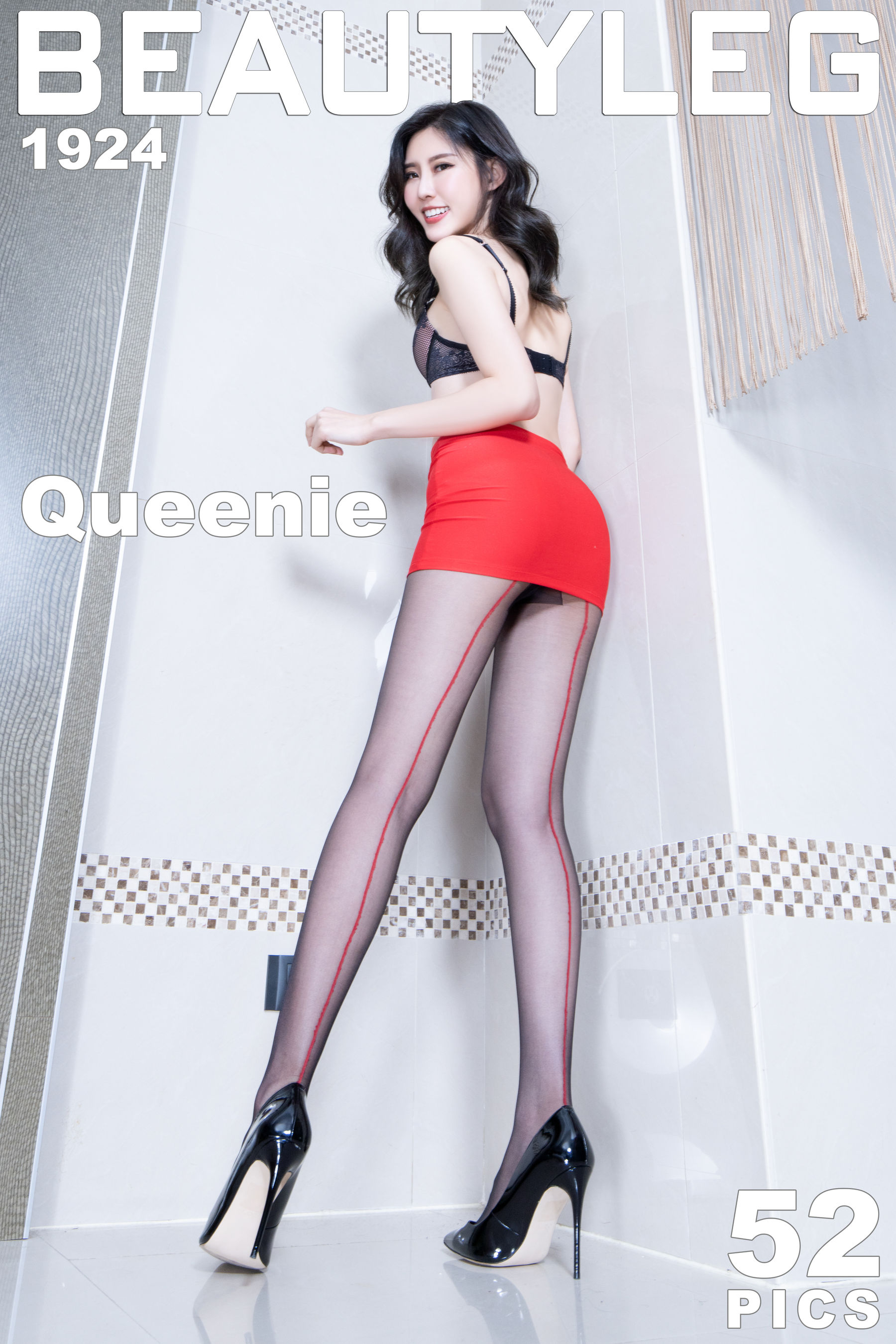 VOL.847 [Beautyleg]高跟美腿:郭珉妏(腿模Queenie)超高清个人性感漂亮大图(47P)