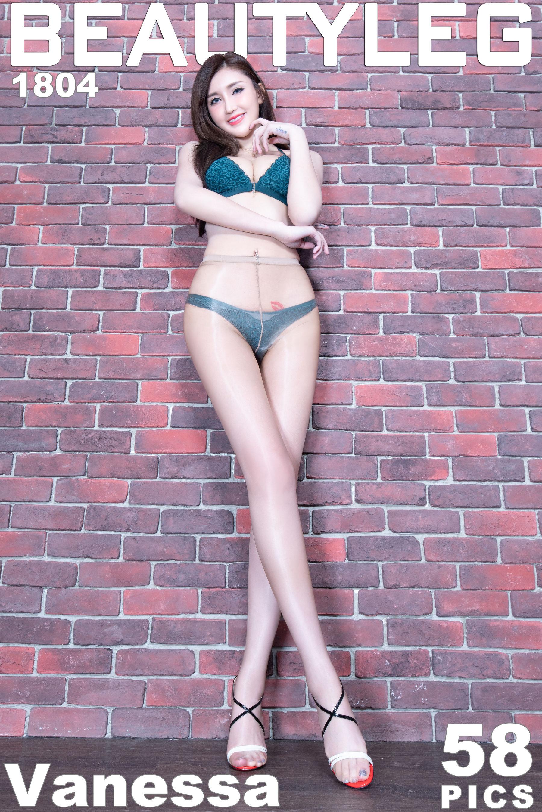 VOL.145 [Beautyleg]泳装美腿:任育萱(腿模Vanessa)超高清个人性感漂亮大图(51P)