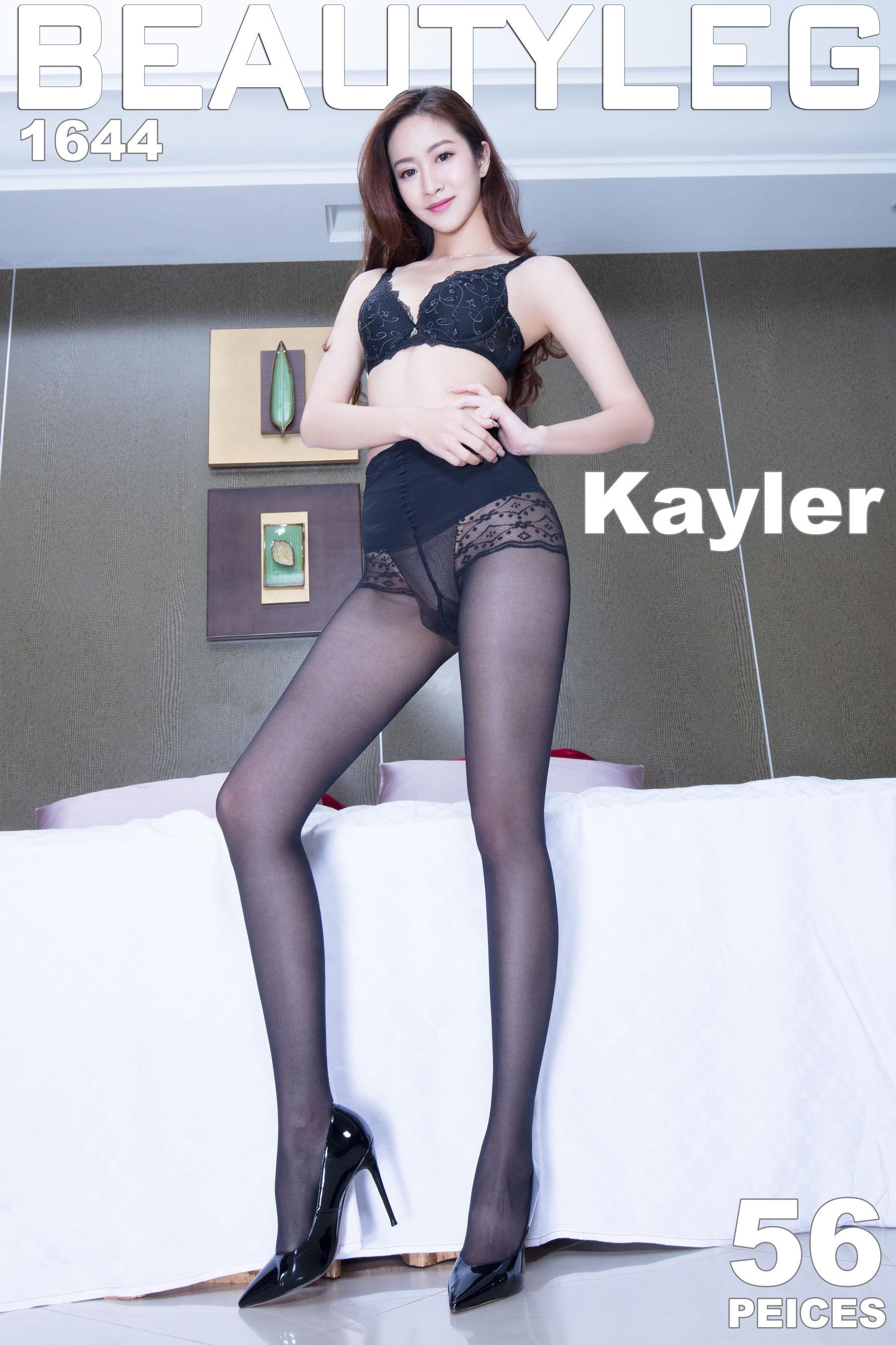 VOL.1156 [Beautyleg]丝袜美腿高跟长腿美女:康凯乐(腿模Kaylar)超高清个人性感漂亮大图(56P)