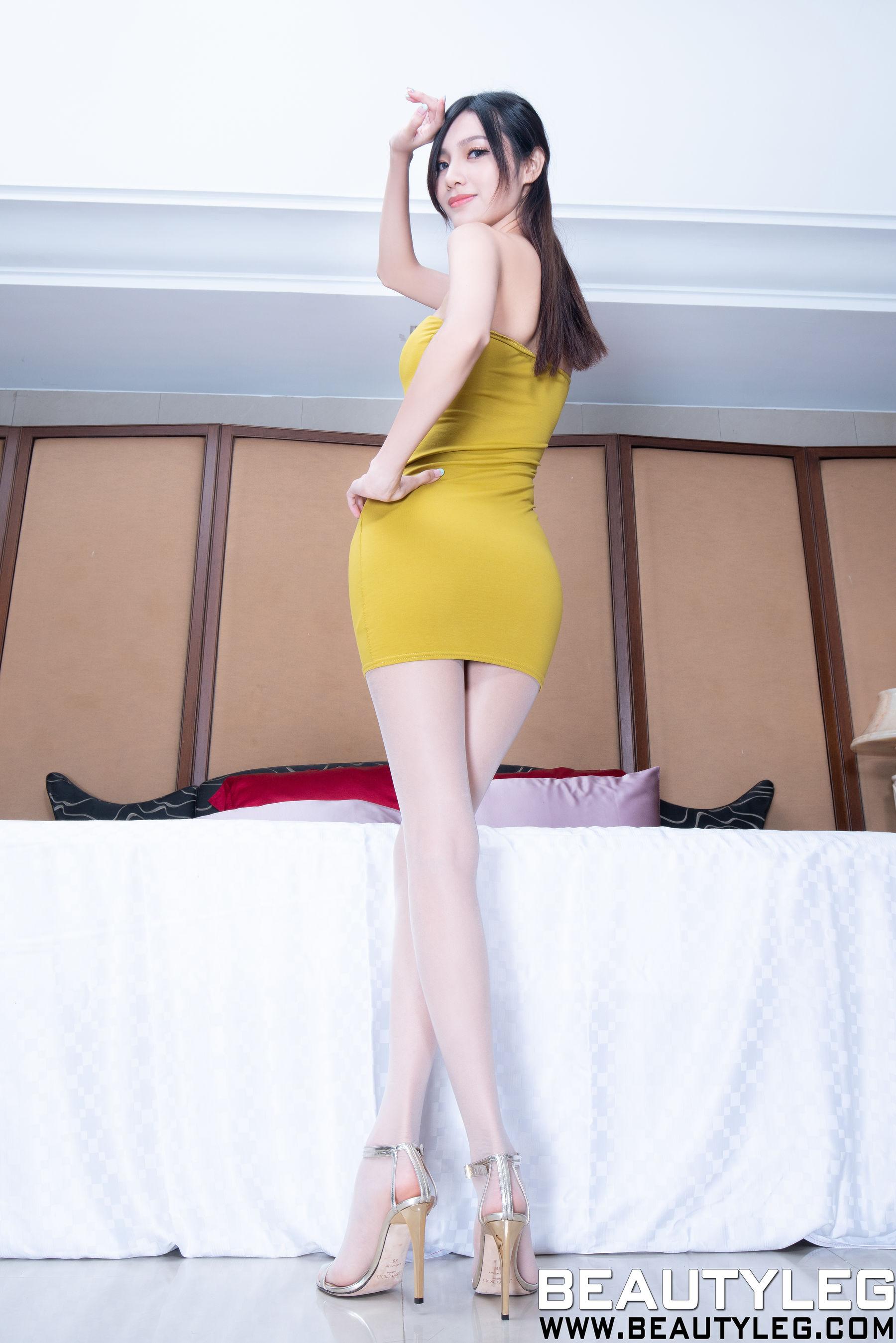 VOL.692 [Beautyleg]丝袜美腿包臀裙美女长腿美女:林昱(腿模Lynn)超高清个人性感漂亮大图(43P)
