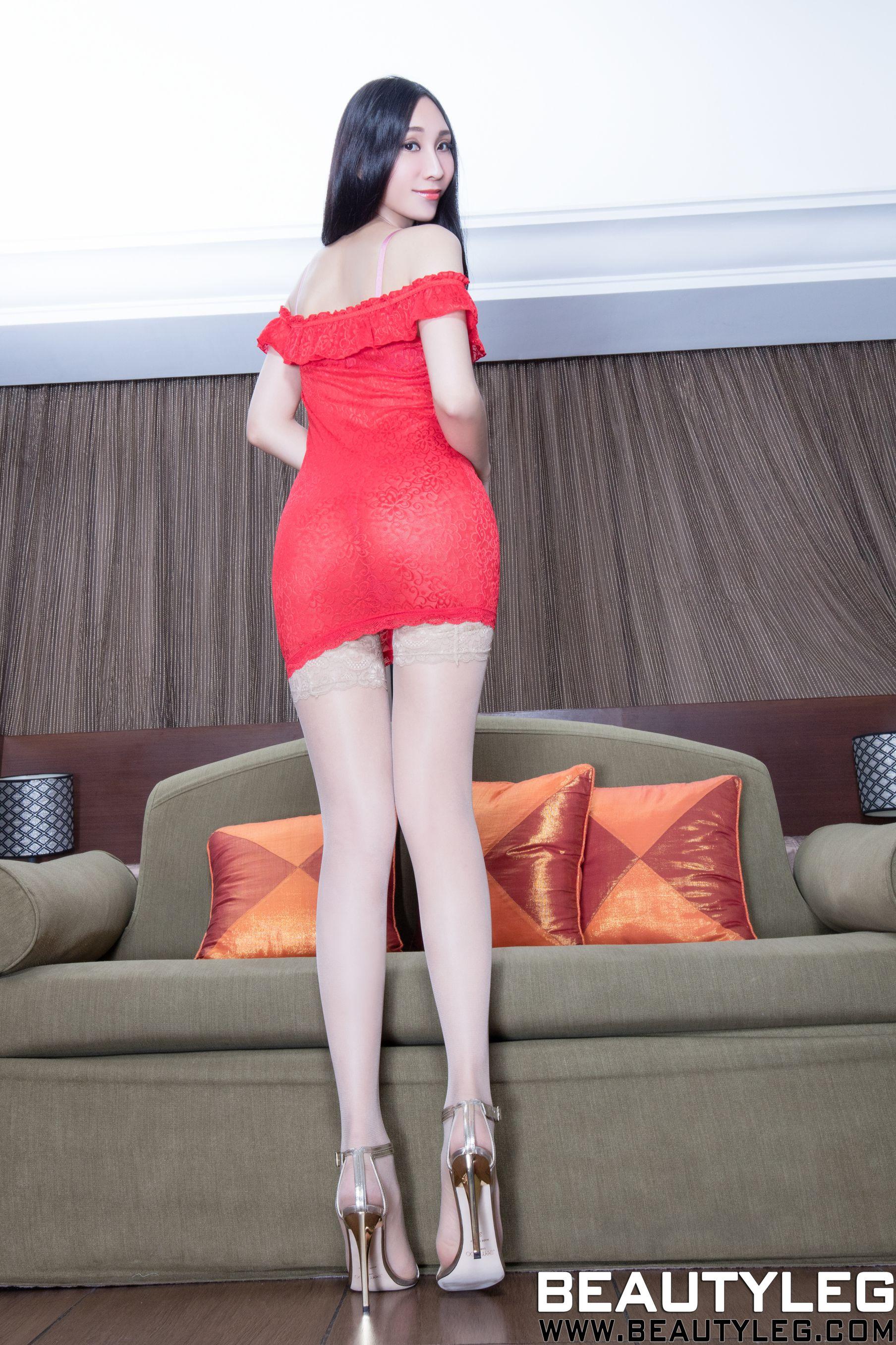 VOL.1322 [Beautyleg]丝袜美腿网衣:吴美希(腿模Miki)超高清个人性感漂亮大图(42P)