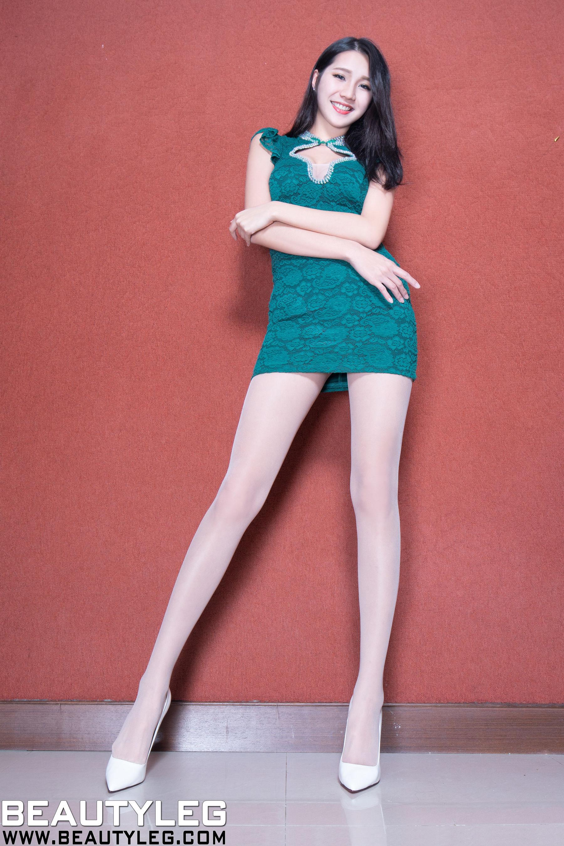 VOL.1116 [Beautyleg]制服丝袜美腿高跟:林千如(腿模Anita)超高清个人性感漂亮大图(50P)