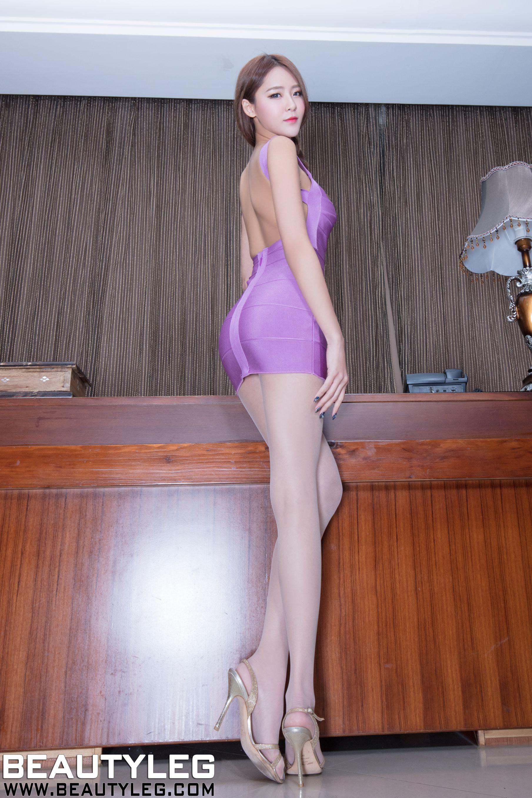 VOL.702 [Beautyleg]美腿包臀裙美女:Winnie小雪(庄咏惠,庄温妮,腿模Winnie)高品质写真套图(46P)