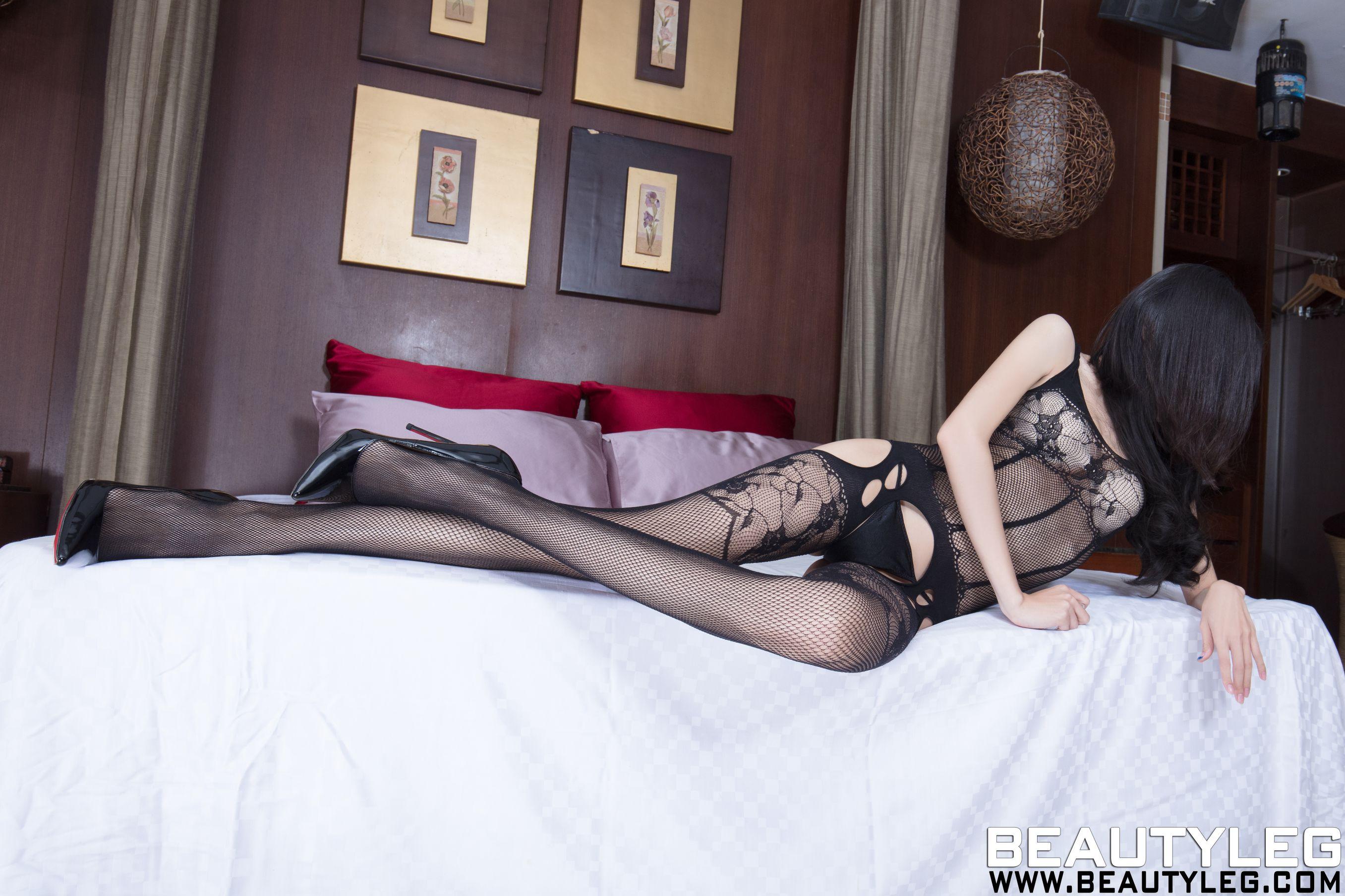 VOL.1121 [Beautyleg]丝袜诱惑:腿模Minna高品质写真套图(60P)
