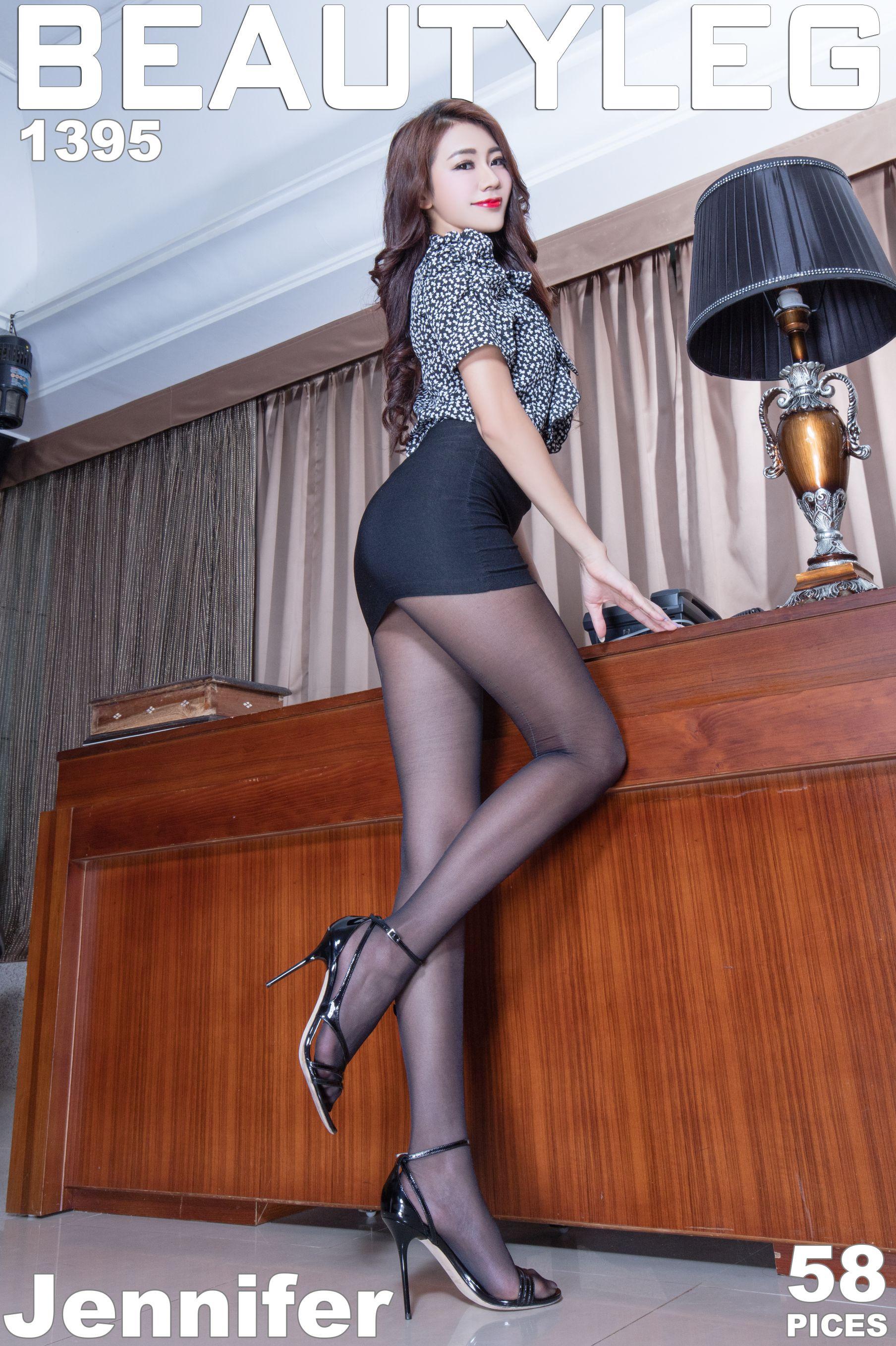 VOL.272 [Beautyleg]御姐丝袜美腿OL美女:钱洪琳(腿模Jennifer)高品质写真套图(52P)