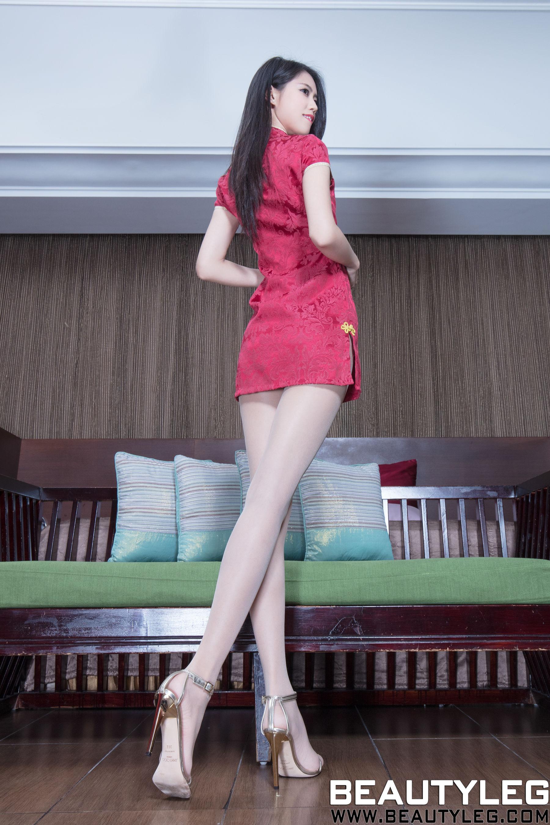 VOL.516 [Beautyleg]制服丝袜美腿腿模:宝儿Candy(腿模Candy)高品质写真套图(51P)