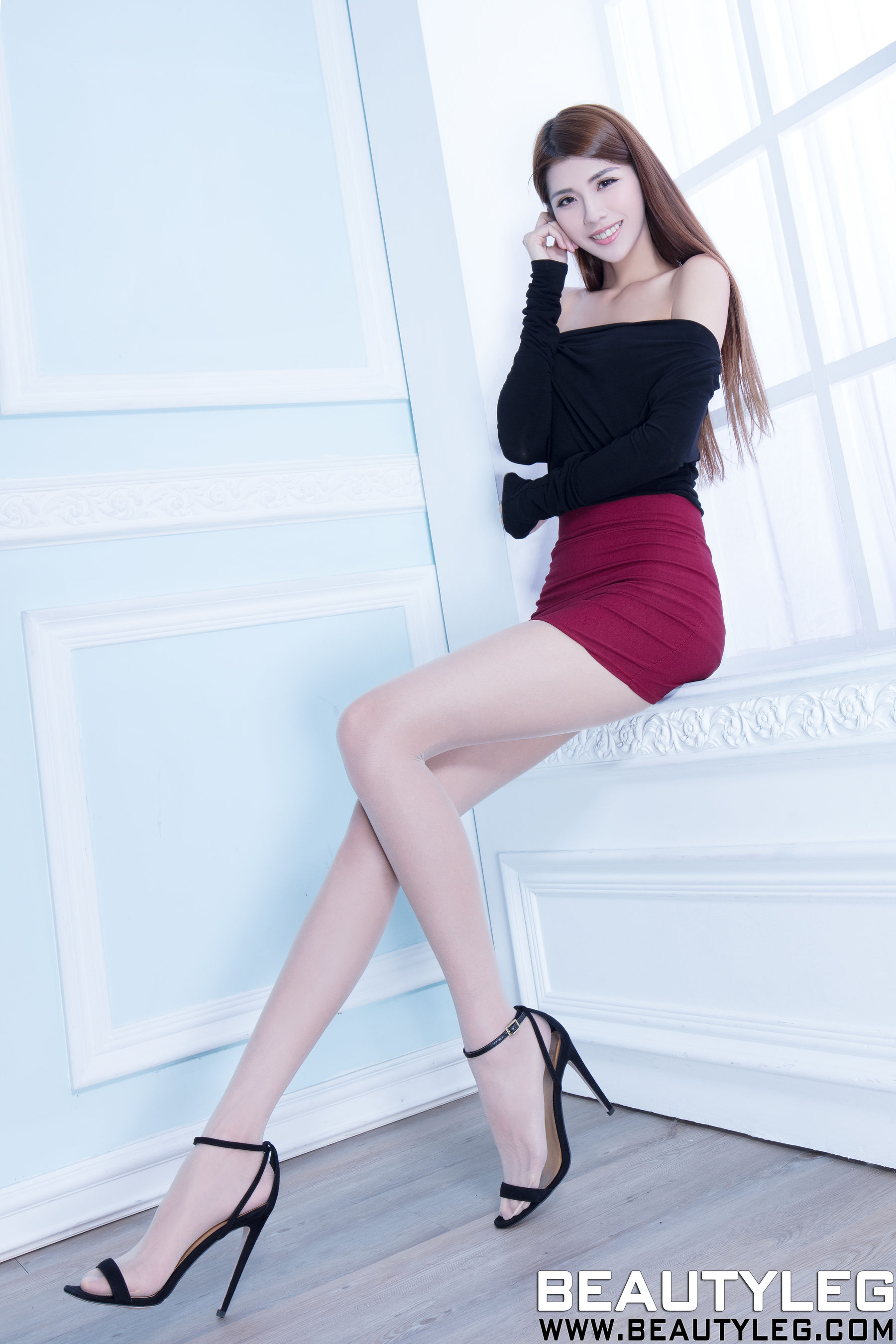 VOL.534 [Beautyleg]美腿高跟OL美女长腿美女:腿模Joanna高品质写真套图(63P)