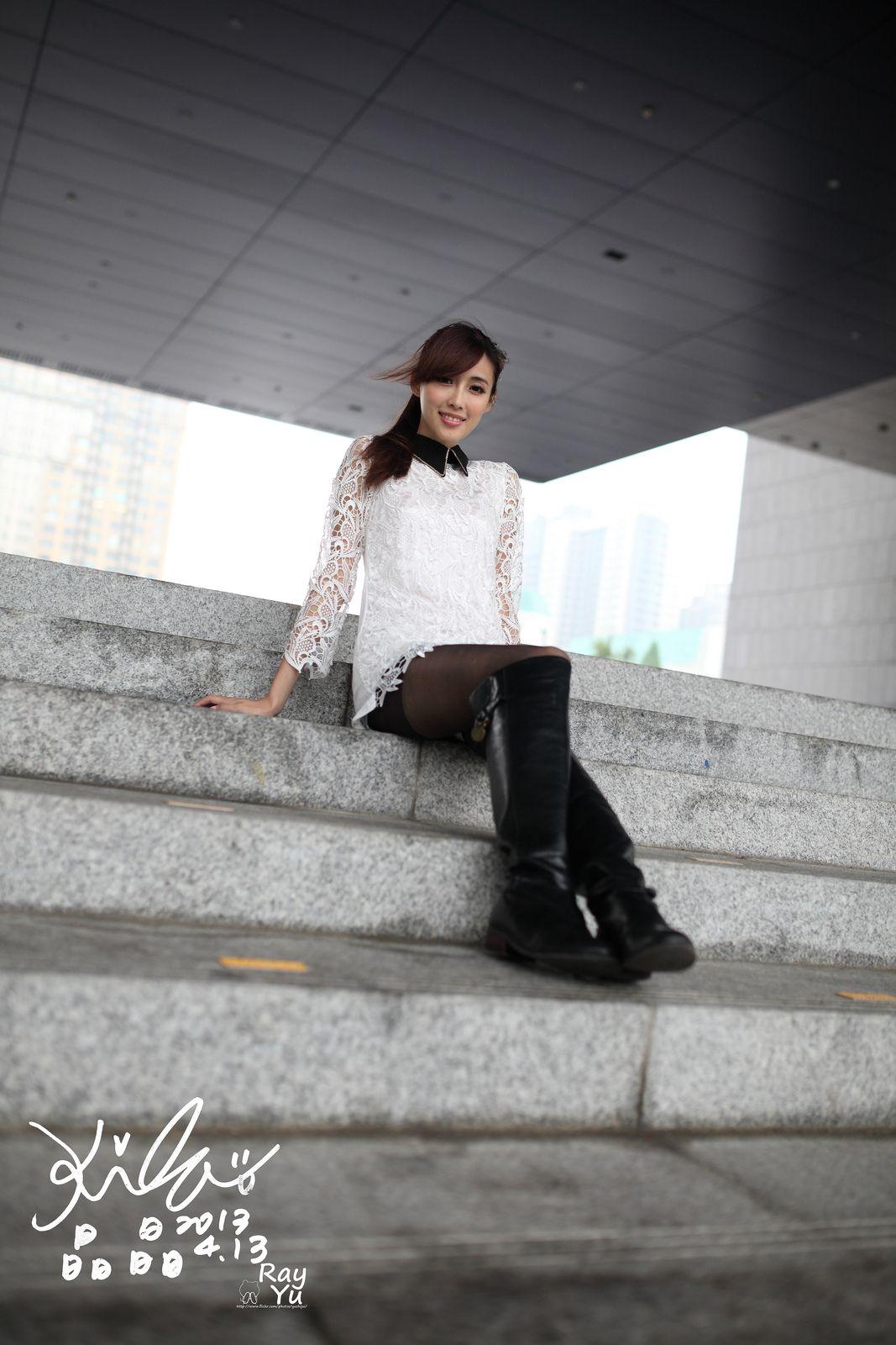VOL.257 [台湾正妹]街拍黑丝街拍黑丝:金允乔(廖挺伶,kila晶晶)高品质写真套图(76P)