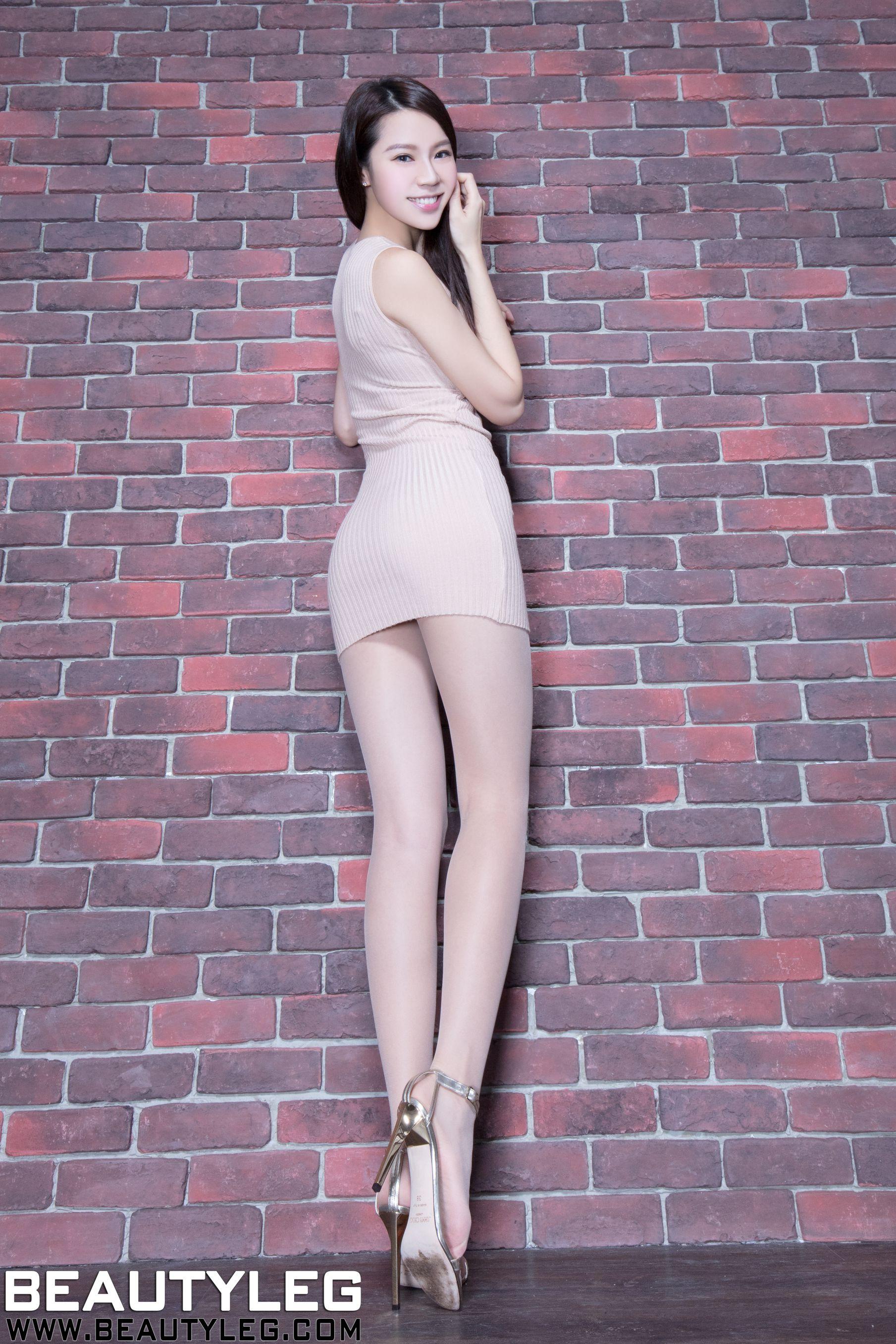 VOL.1232 [Beautyleg]丝袜美腿高跟美腿:腿模Christine高品质写真套图(51P)