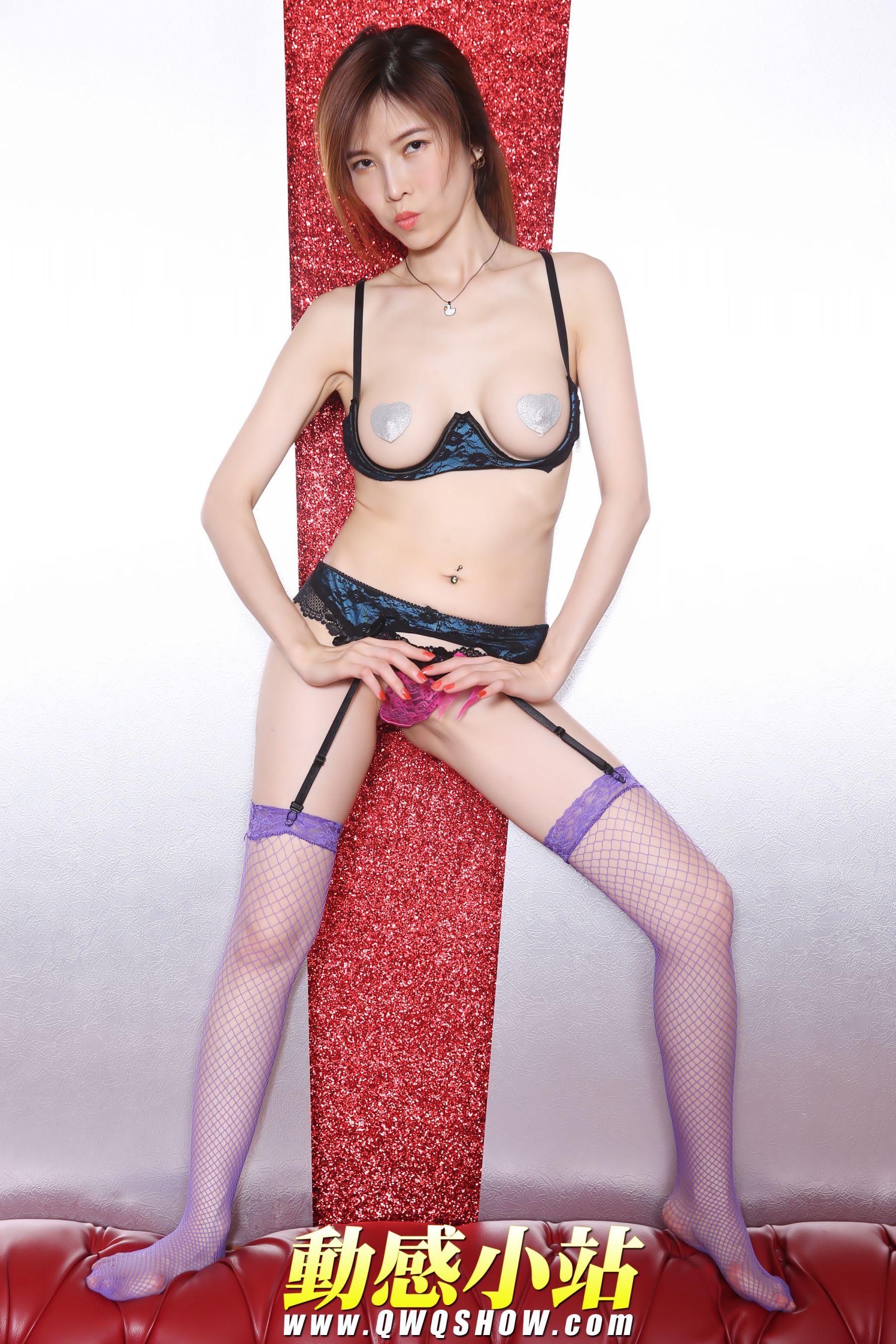 VOL.1668 [动感之星]网袜吊带丝袜:小玲(动感小站小玲,动感之星小玲)高品质写真套图(32P)