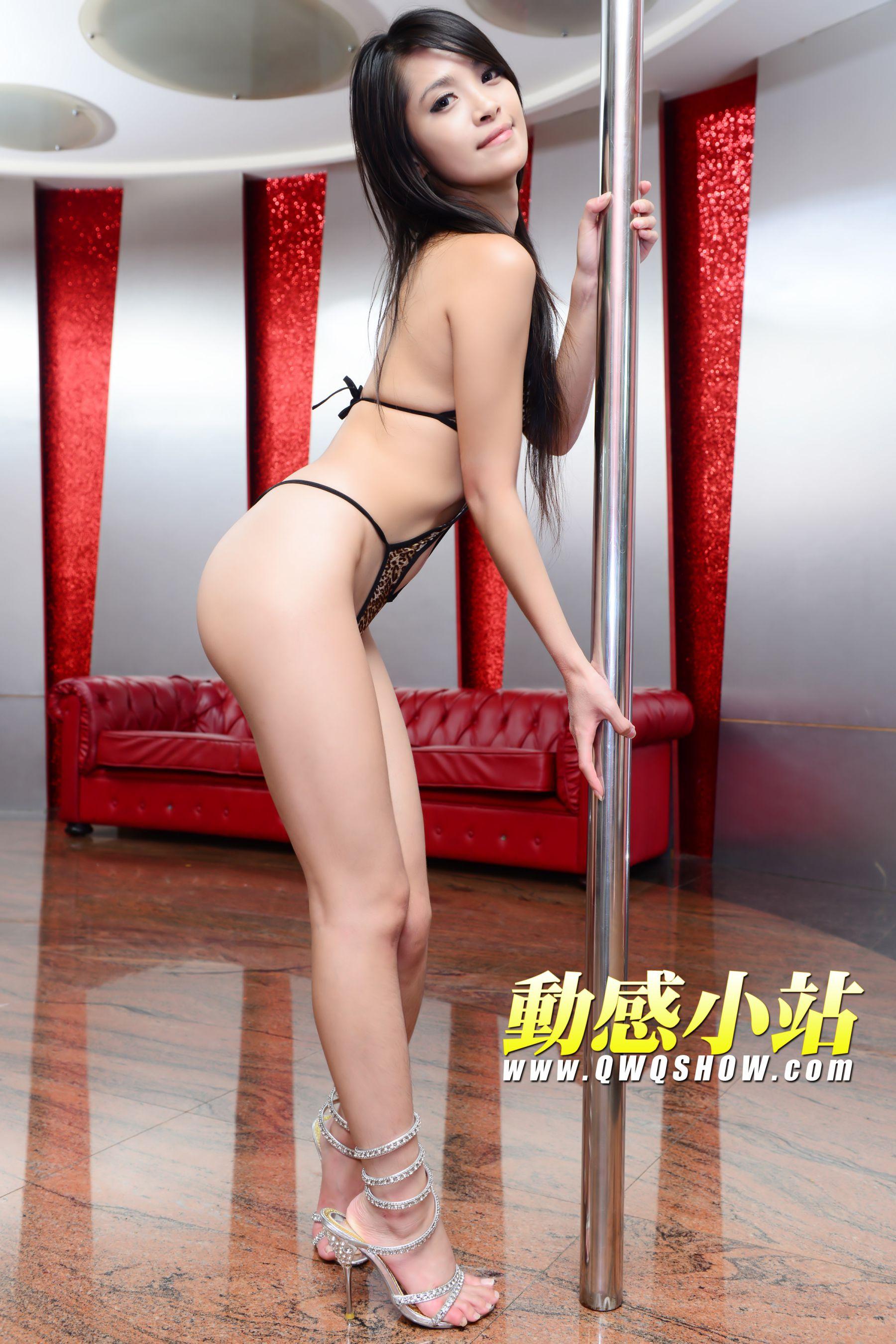 VOL.347 [动感之星]豹纹美女钢管舞:贝琪(动感小站贝琪,动感之星贝琪)高品质写真套图(34P)