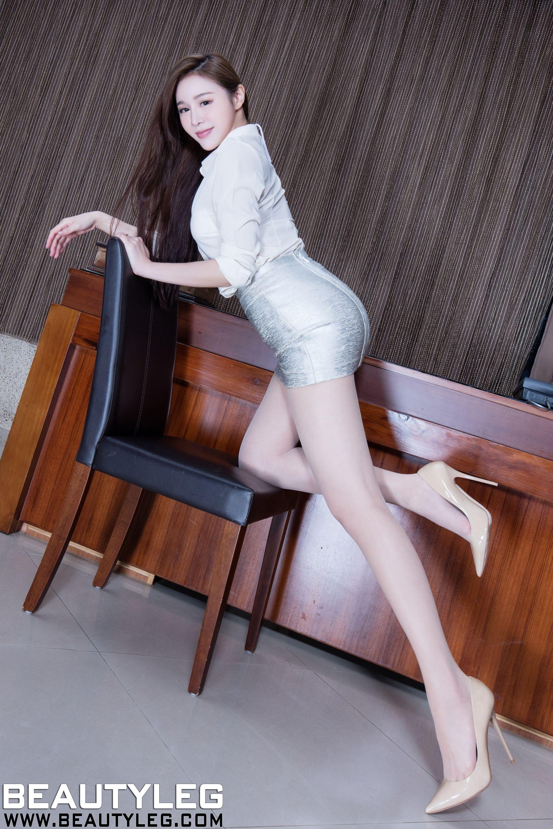 VOL.1861 [Beautyleg]OL美女包臀裙美女长腿美女:腿模Lena(Lena)高品质写真套图(47P)
