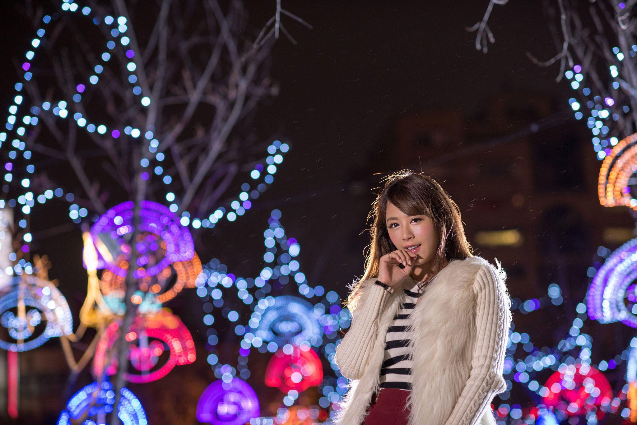 VOL.1135 [台湾正妹]圣诞街拍:夏晴(夏晴Miso,腿模Miso)高品质写真套图(66P)
