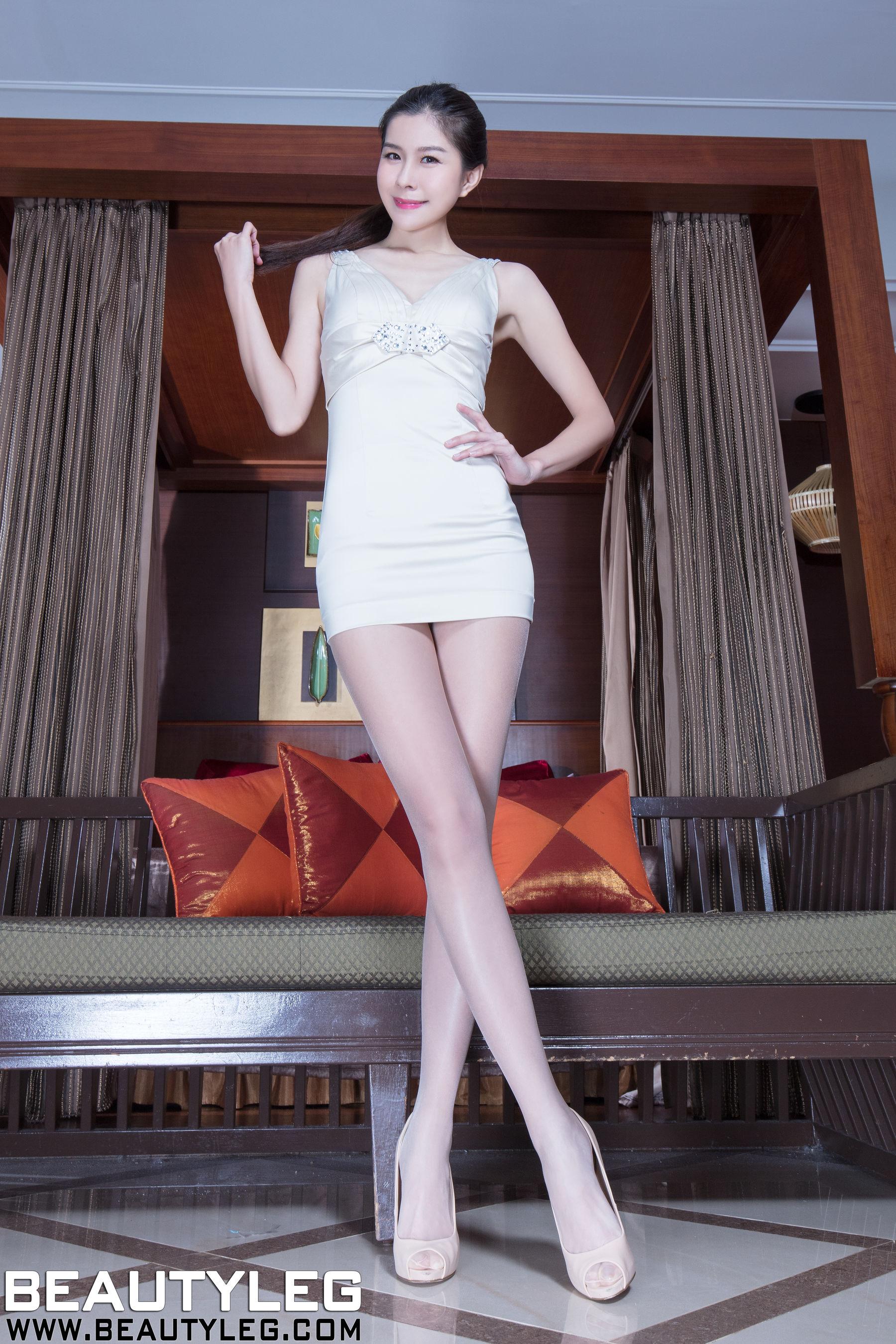 VOL.1766 [Beautyleg]丝袜美女美腿高跟长腿美女:腿模Sarah高品质写真套图(44P)