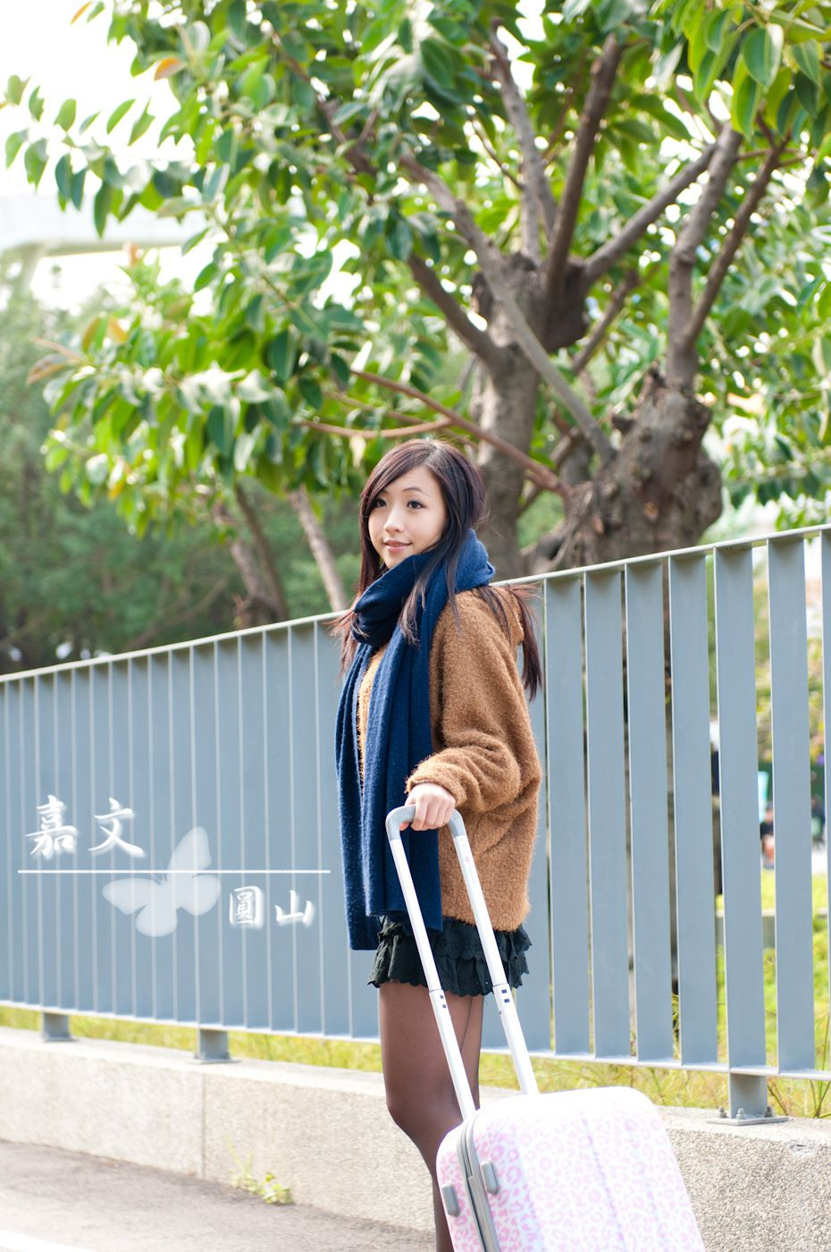 VOL.1104 [网络美女]清纯街拍正妹:郑嘉文(郑小奈)高品质写真套图(51P)