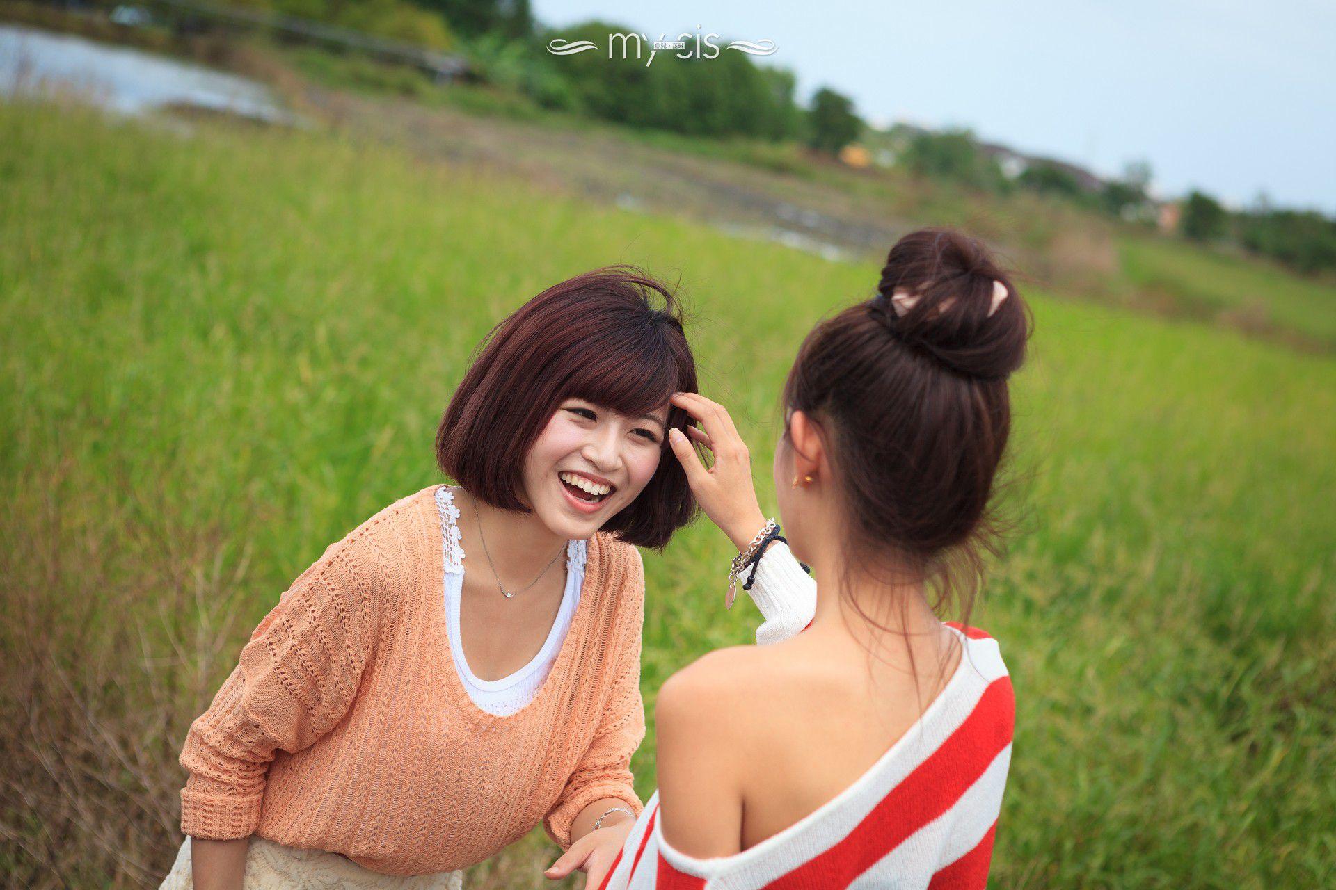 VOL.1204 [网络美女]可爱外拍妹子姐妹花:徐玮吟高品质写真套图(60P)