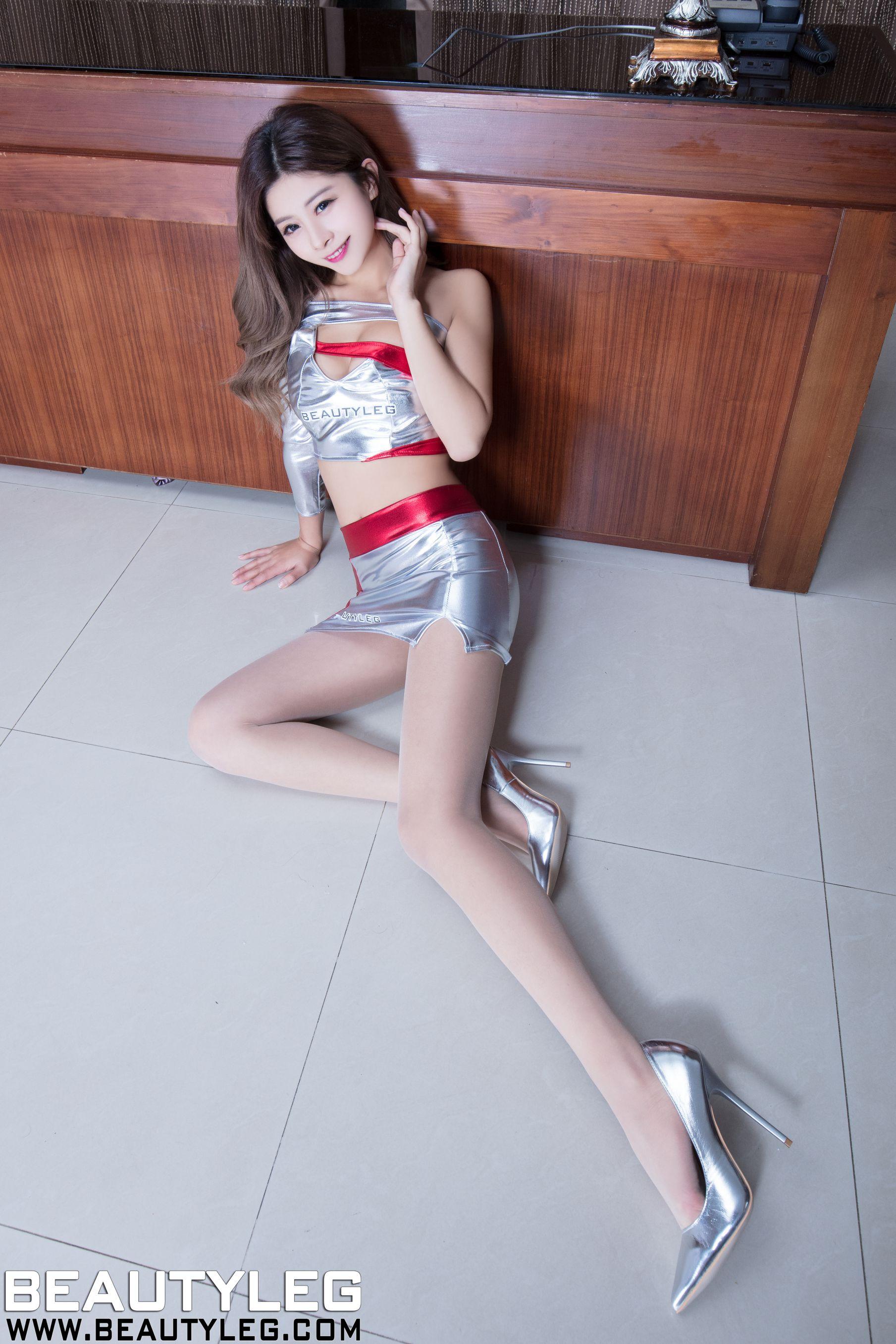 VOL.1179 [Beautyleg]制服美腿:腿模PinQ(PinQ)高品质写真套图(39P)