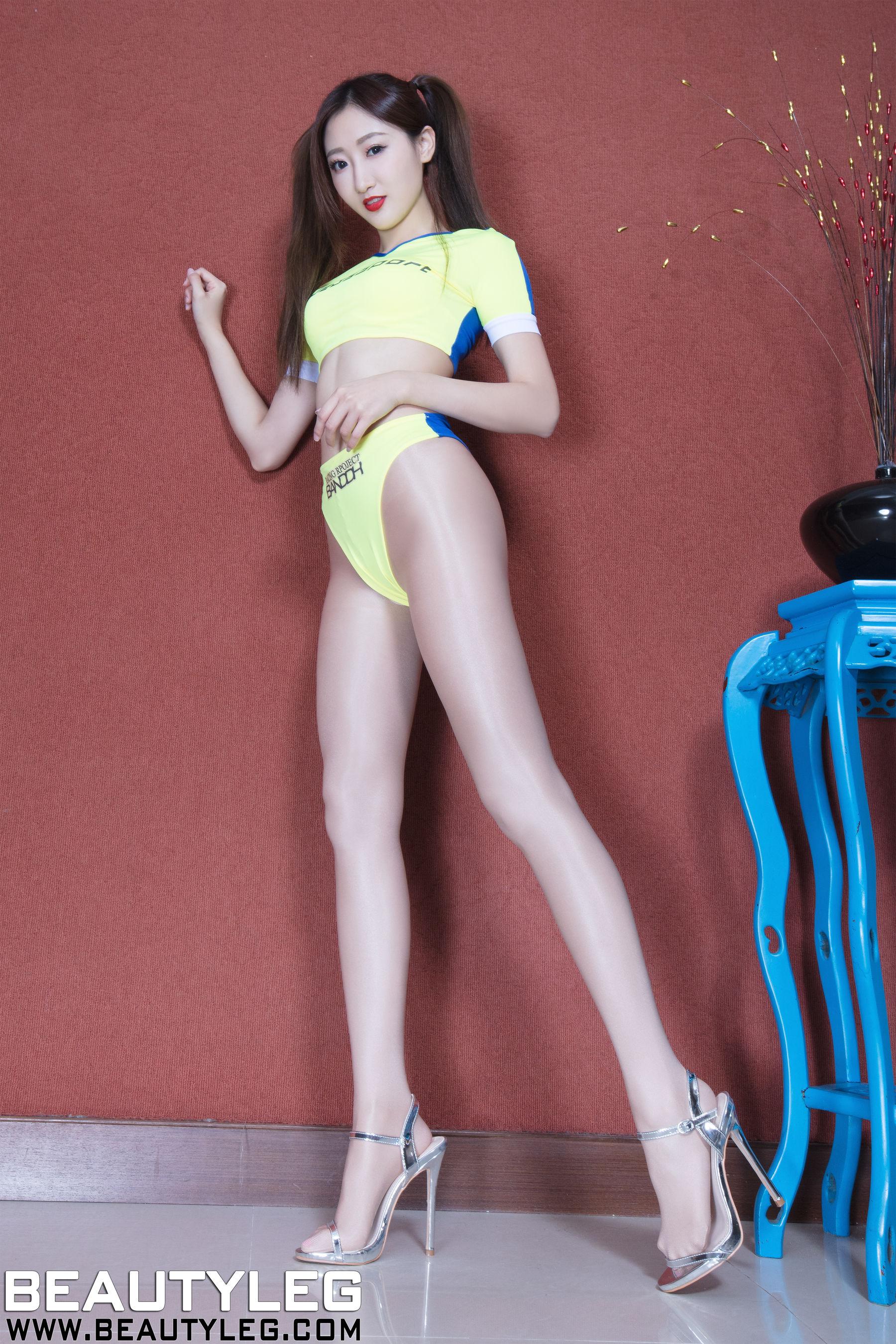 VOL.1667 [Beautyleg]制服美腿高叉泳装长腿美女:腿模Minnie(Minnie)高品质写真套图(51P)