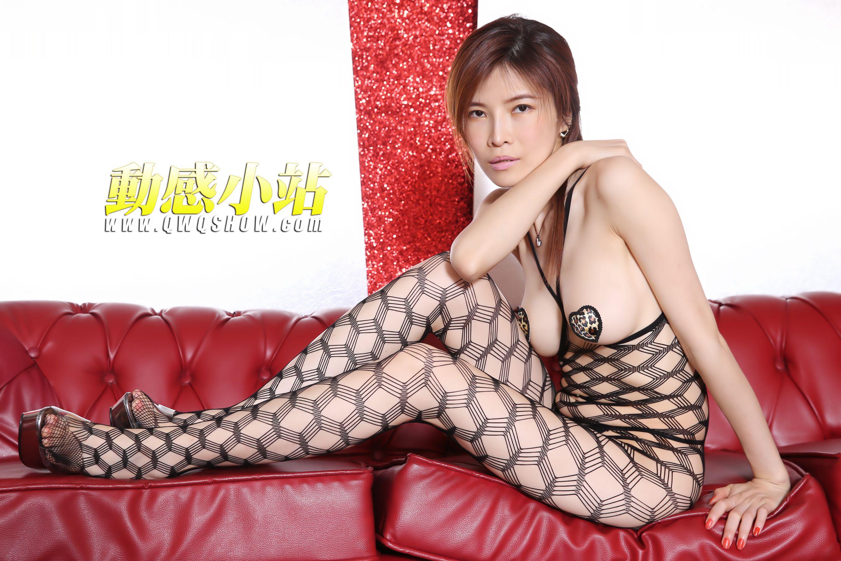 VOL.941 [动感之星]网衣大尺度丝袜熟女:小玲(动感小站小玲,动感之星小玲)高品质写真套图(50P)