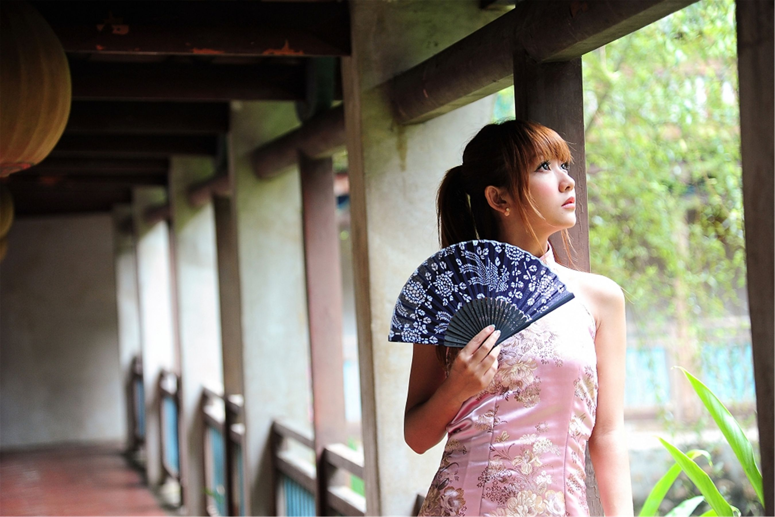 VOL.1208 [网络美女]古典旗袍优雅美女:棠棠高品质写真套图(15P)