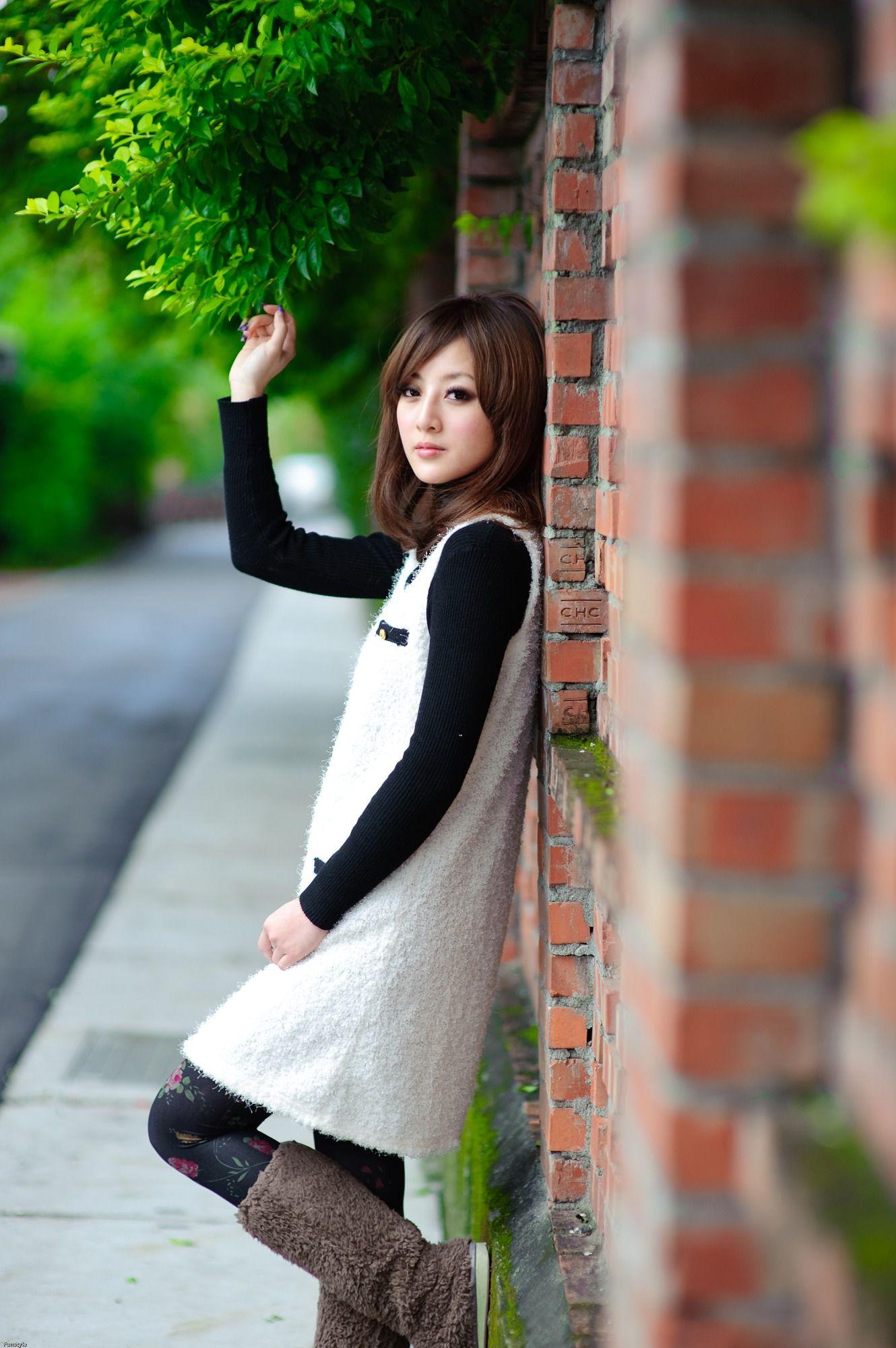 VOL.496 [台湾正妹]清新唯美外拍长靴美女:张凯洁(张允霏,果子MM)高品质写真套图(109P)