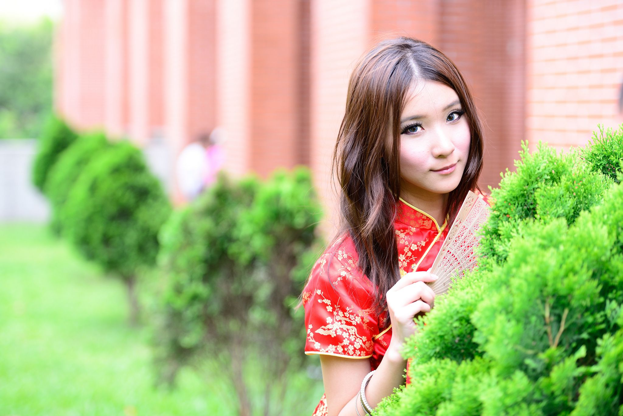 VOL.1860 [台湾正妹]古典旗袍外拍:阿布高品质写真套图(89P)