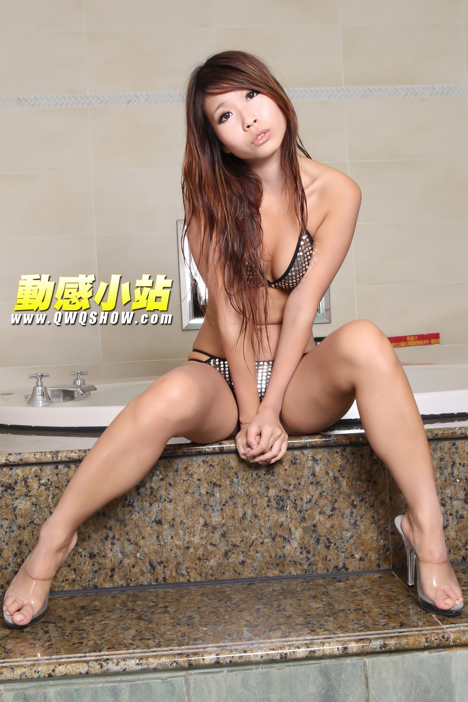 VOL.1214 [动感之星]浴室:小君(动感小站小君,动感之星小君)高品质写真套图(53P)