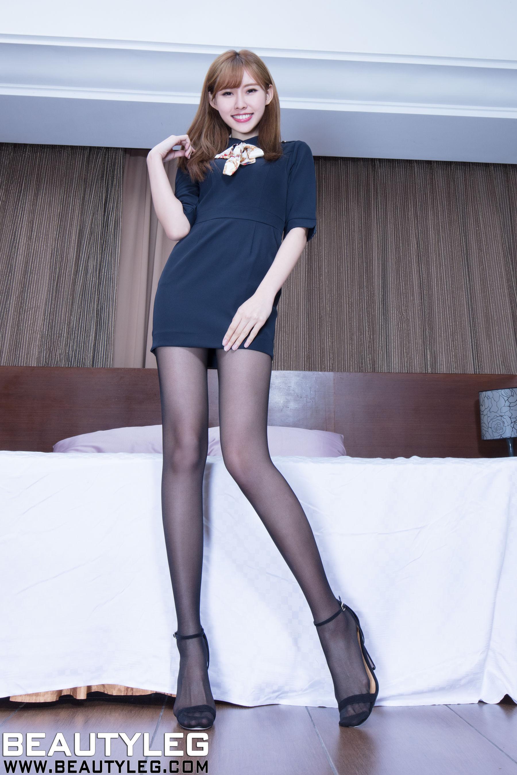 VOL.841 [Beautyleg]丝袜美腿长腿美女丝足高跟:郭珉妏(腿模Queenie)高品质写真套图(43P)
