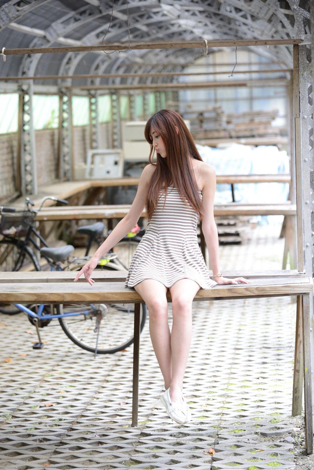 VOL.146 [台湾正妹]超短裙清新养眼户外美女:金允乔(廖挺伶,kila晶晶)高品质写真套图(71P)