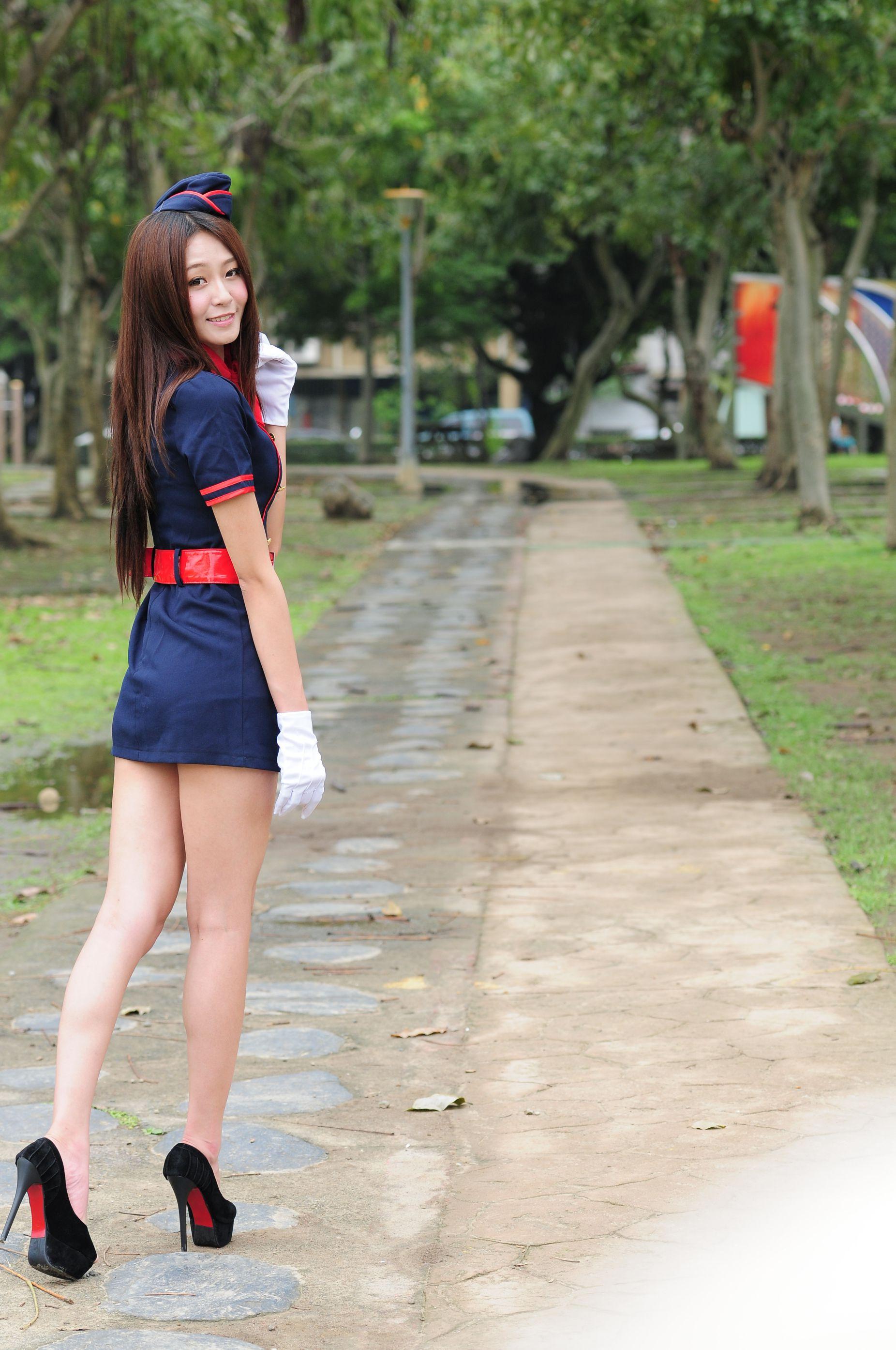 VOL.1413 [台湾正妹]清新户外美女:Winnie小雪(庄咏惠,庄温妮,腿模Winnie)高品质写真套图(67P)