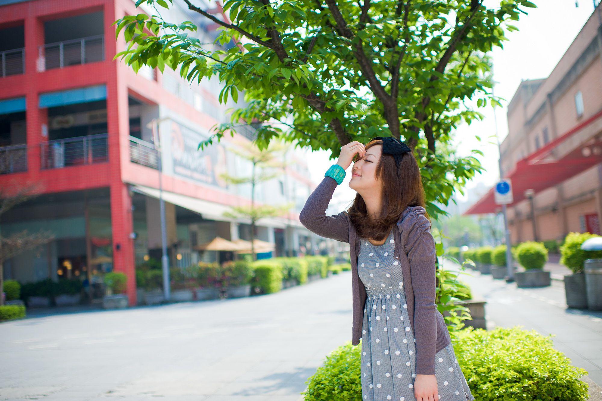 VOL.865 [台湾正妹]清新街拍养眼:张凯洁(张允霏,果子MM)高品质写真套图(55P)