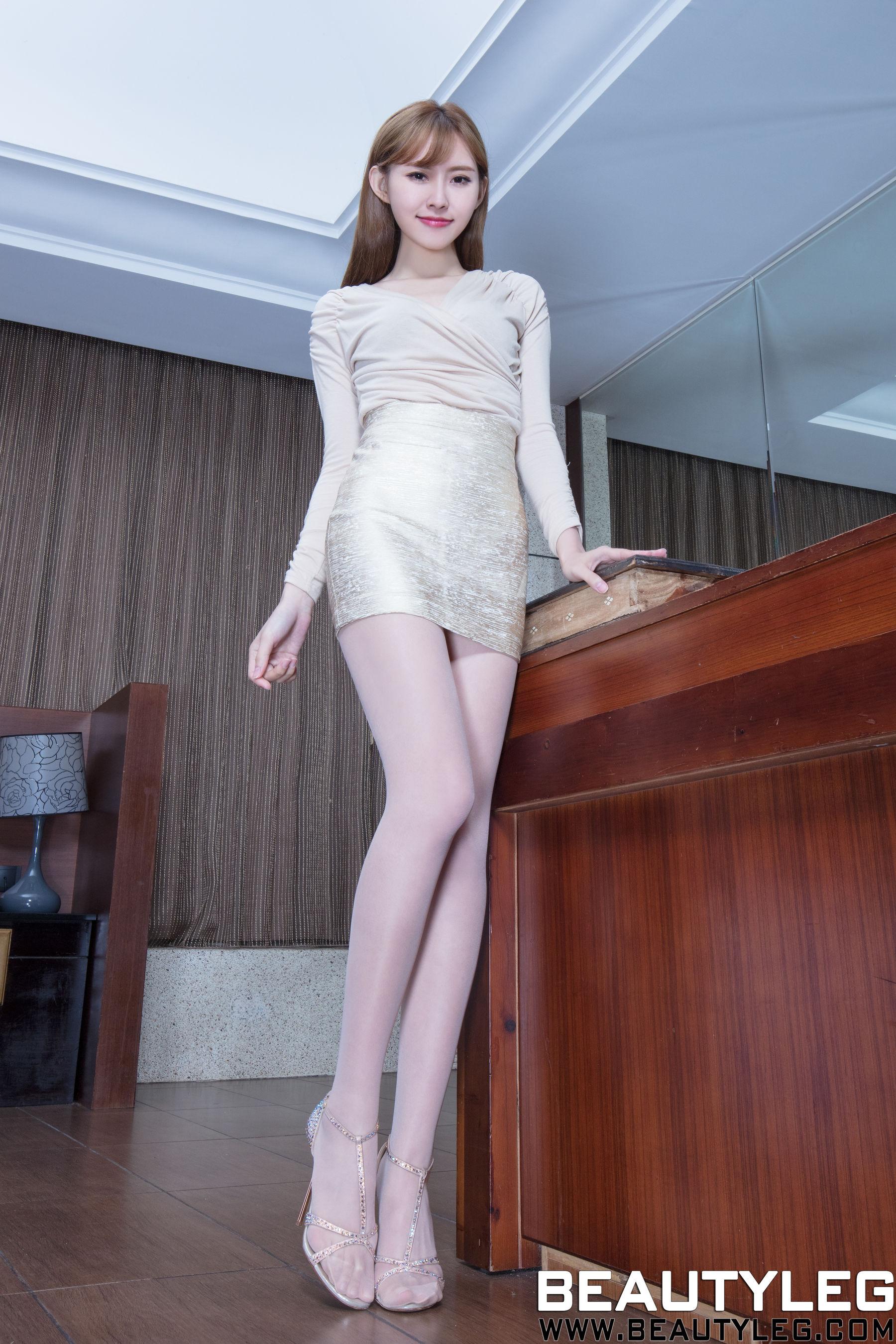 VOL.353 [Beautyleg]美腿丝袜美腿腿模:郭珉妏(腿模Queenie)高品质写真套图(44P)
