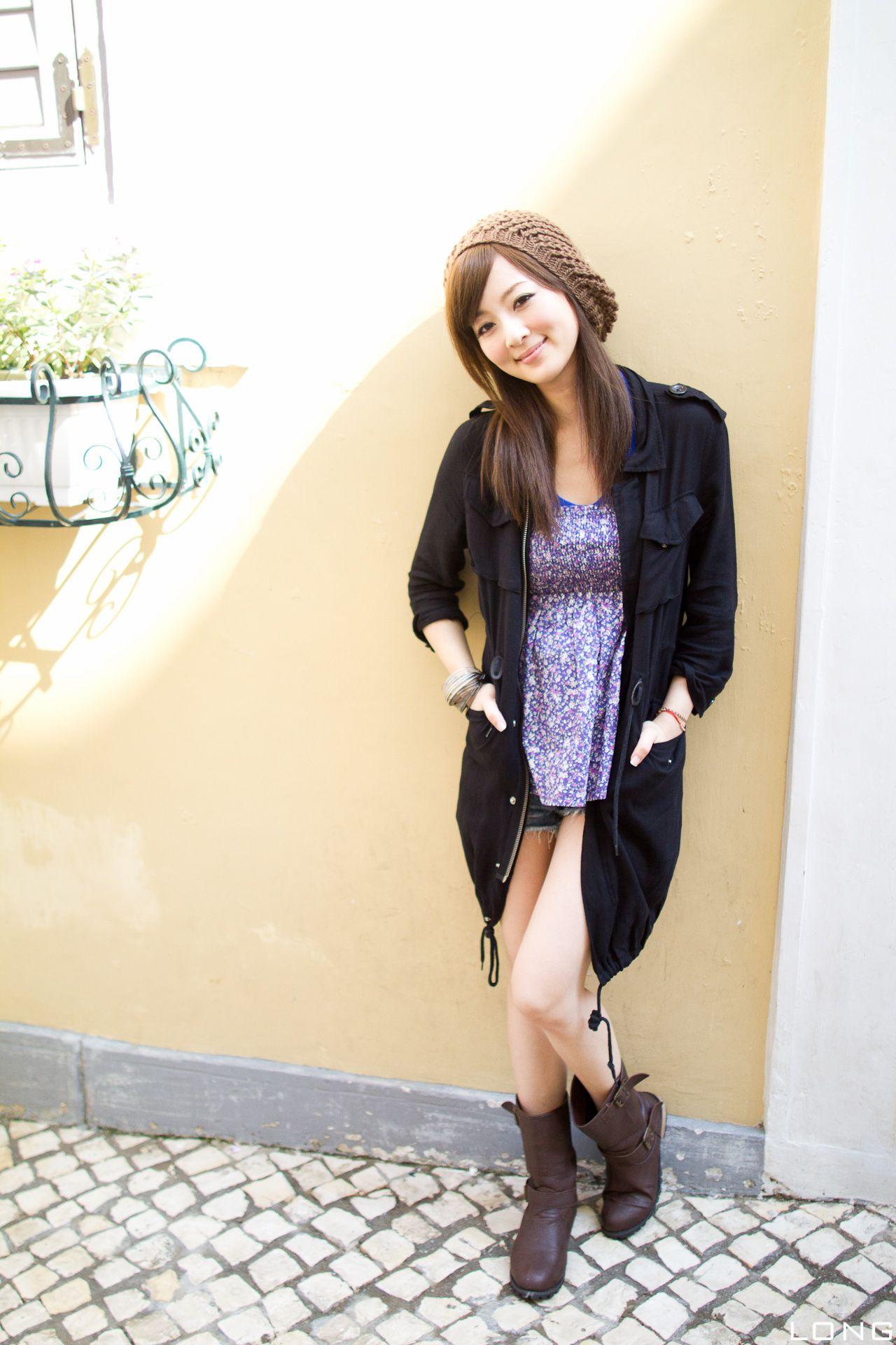 VOL.1252 [台湾正妹]可爱热裤牛仔街拍:张凯洁(张允霏,果子MM)高品质写真套图(190P)