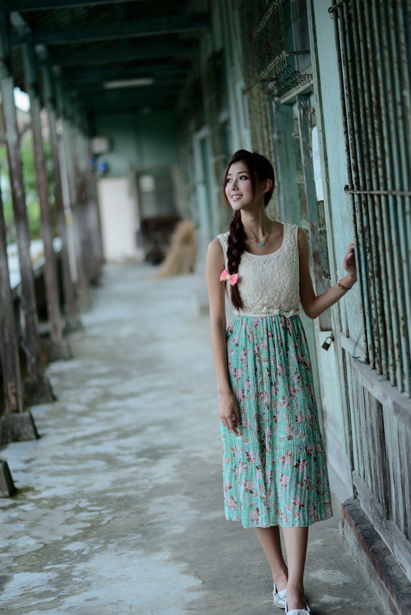 VOL.805 [台湾正妹]长裙清新唯美女神优雅美女:金允乔(廖挺伶,kila晶晶)高品质写真套图(60P)