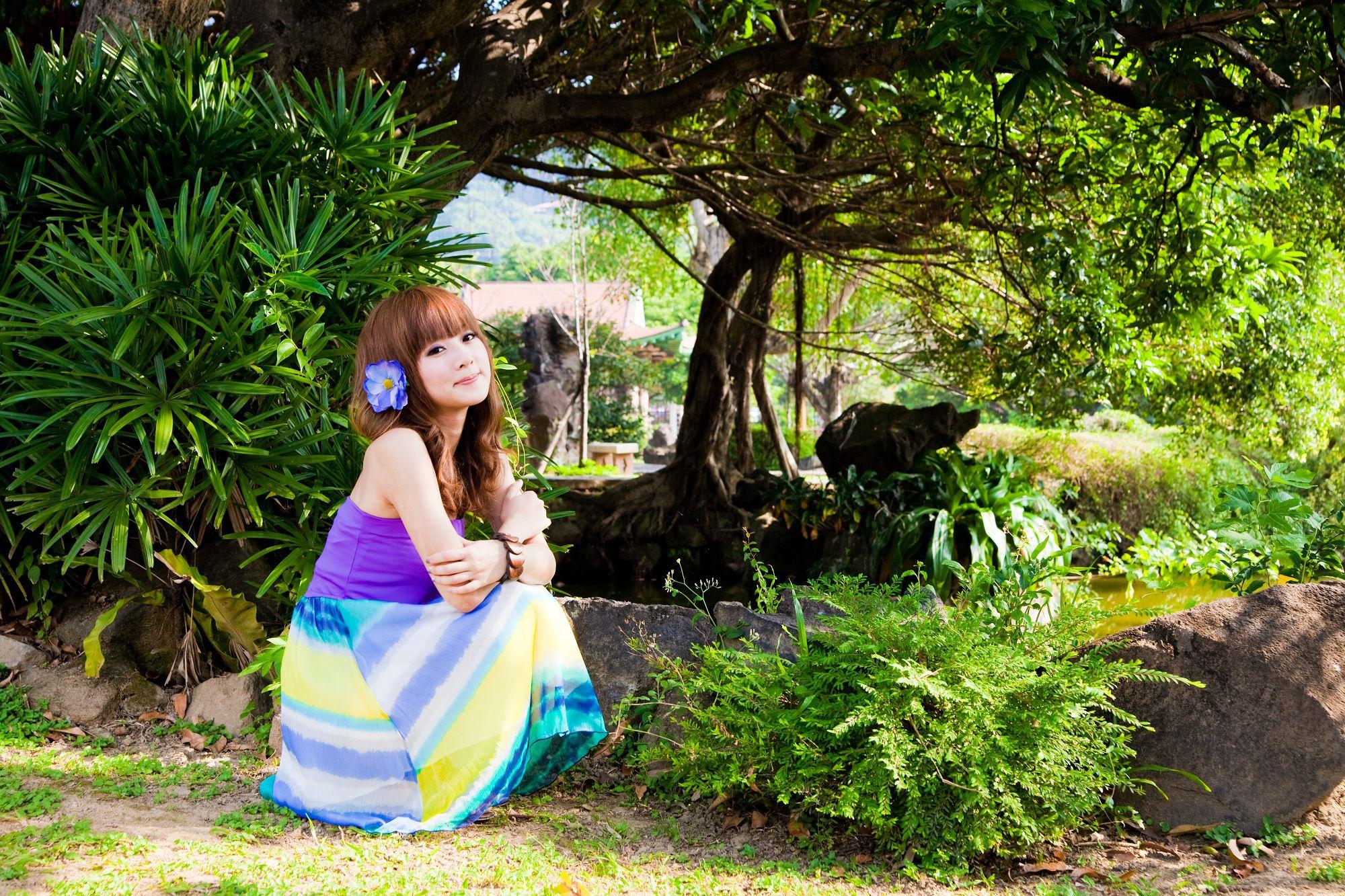 VOL.1108 [台湾正妹]长裙清新唯美阳光正妹:张凯洁(张允霏,果子MM)高品质写真套图(120P)