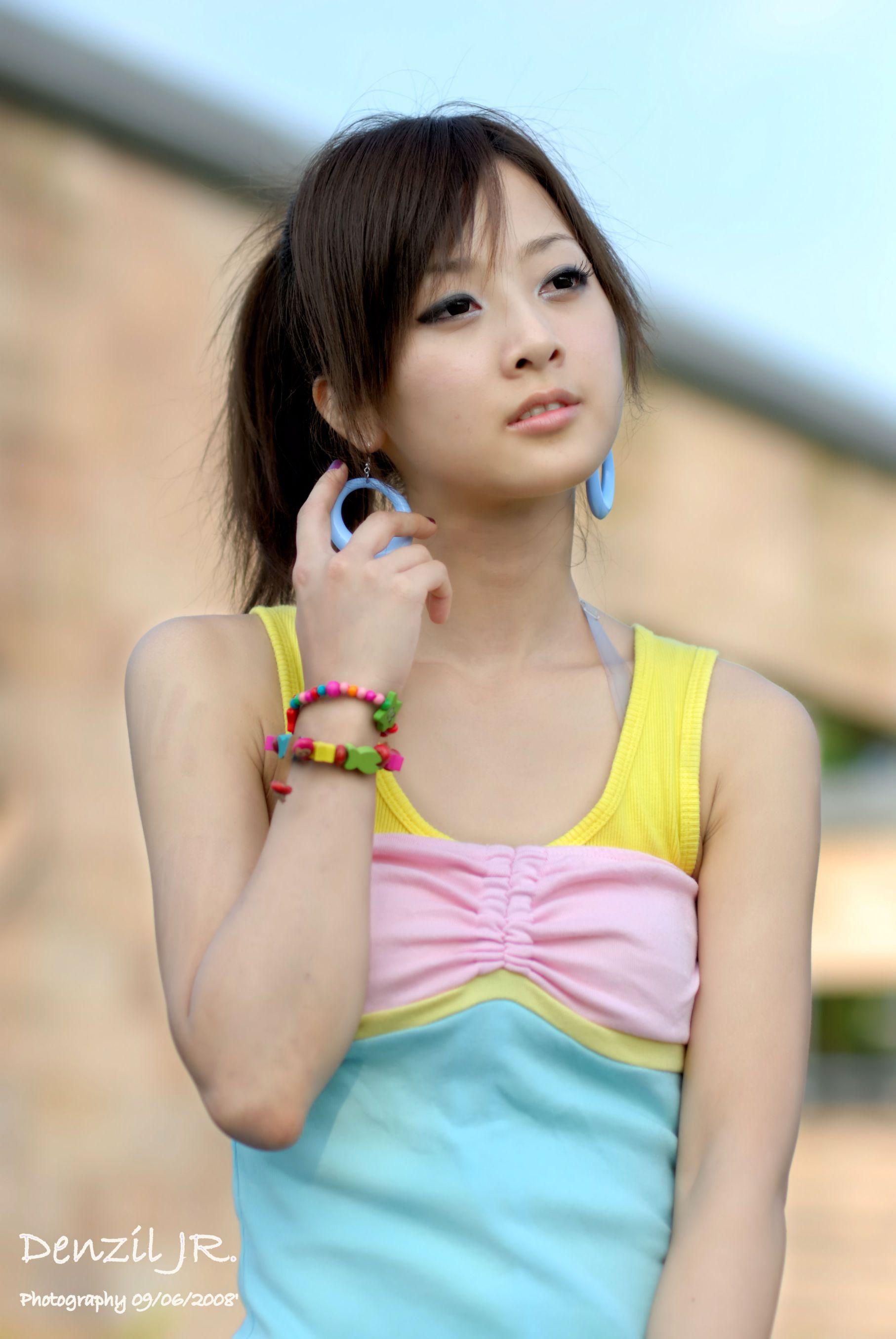 VOL.509 [台湾正妹]清新阳光连衣裙明星:张凯洁(张允霏,果子MM)高品质写真套图(45P)