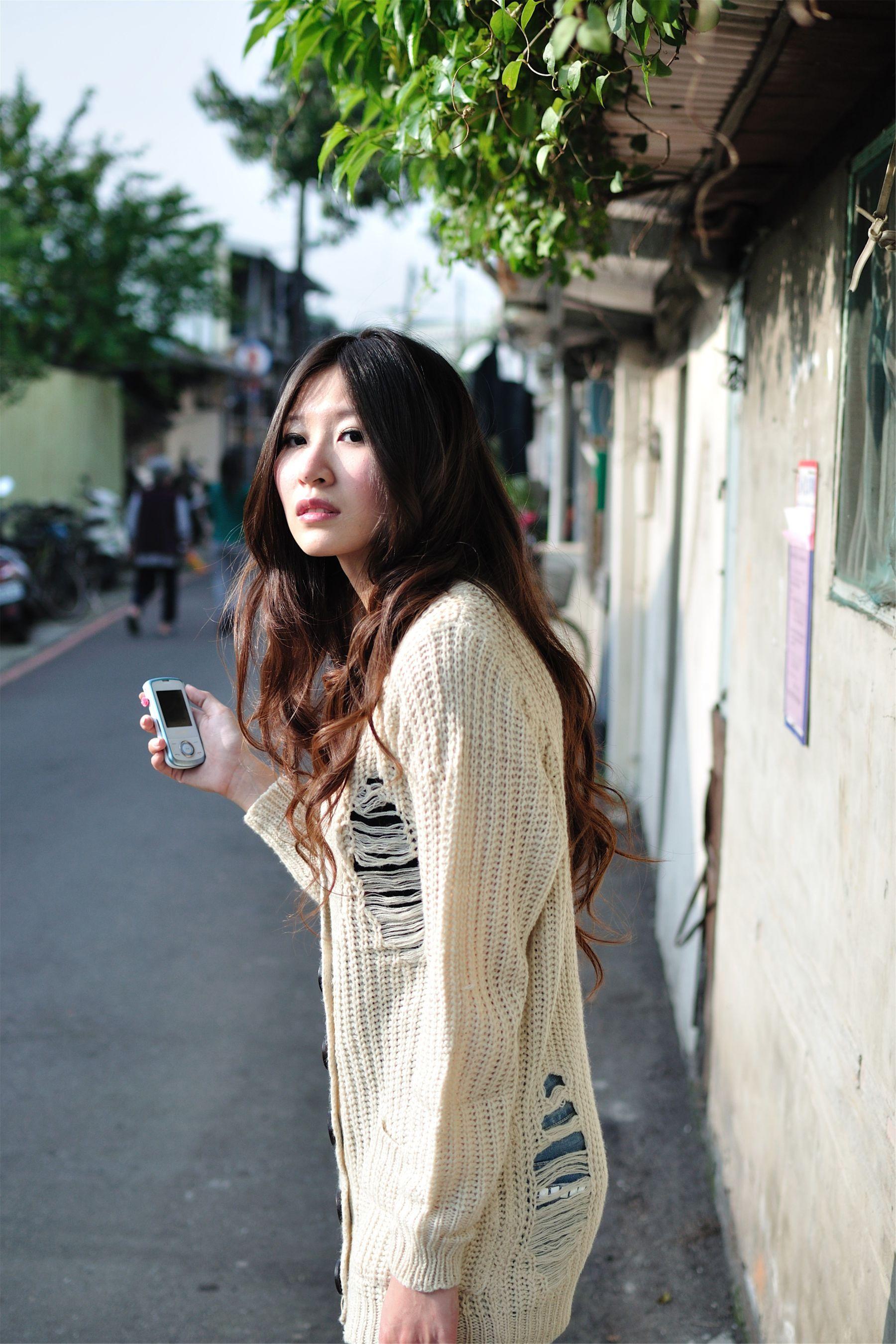 VOL.607 [台湾正妹]清新街拍正妹:Pink高品质写真套图(16P)