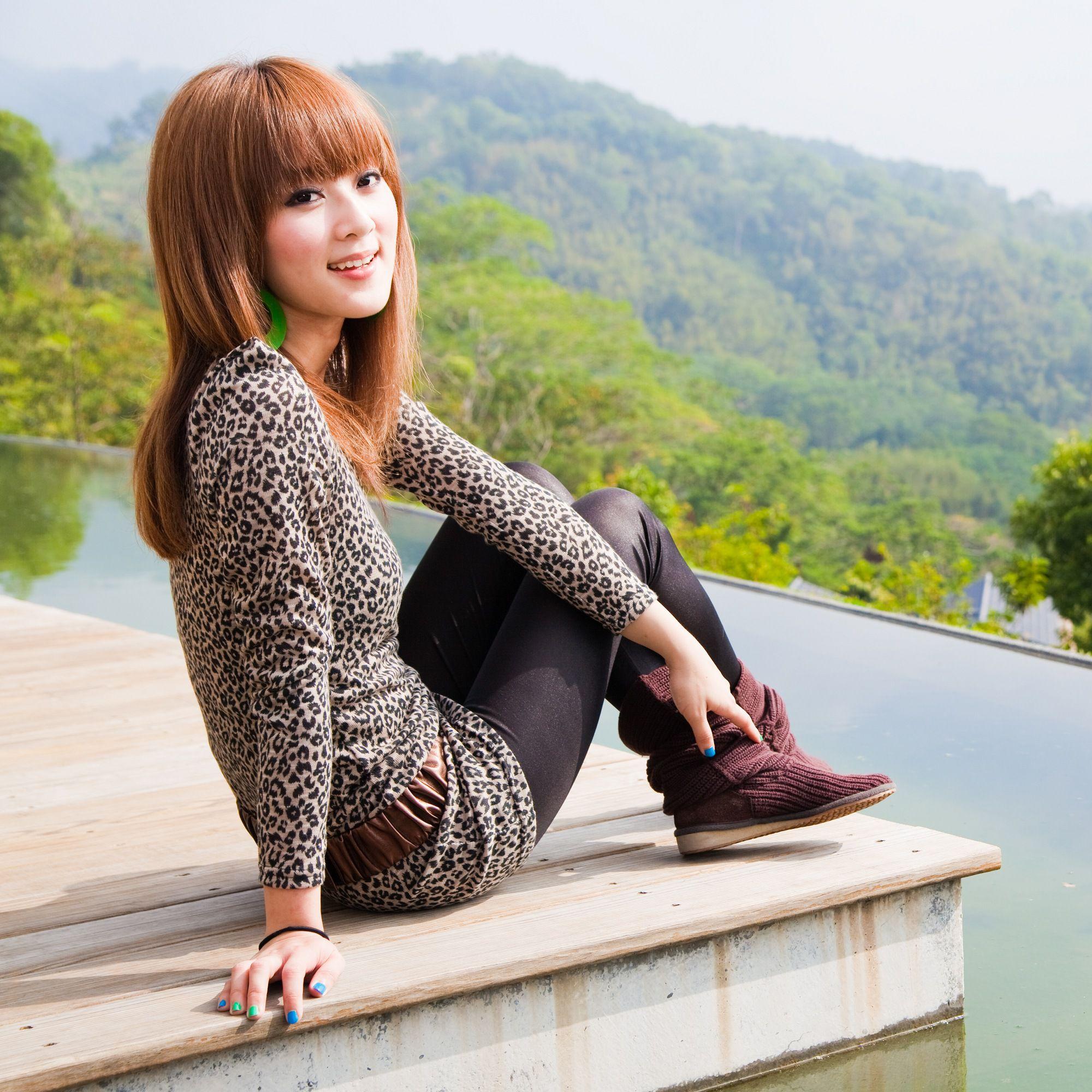 VOL.95 [台湾正妹]清新街拍外拍阳光正妹:张凯洁高品质写真套图(85P)