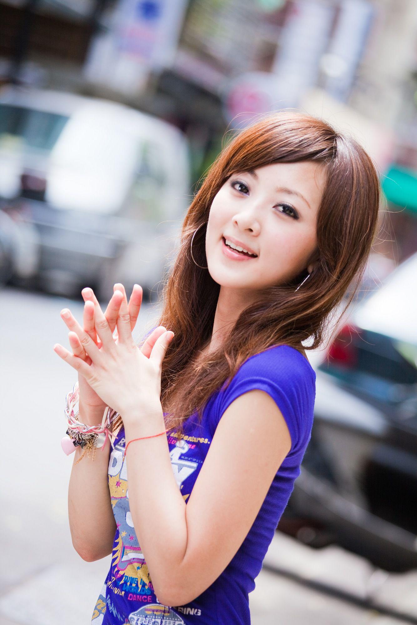 VOL.431 [台湾正妹]可爱街拍阳光妹子:张凯洁(张允霏,果子MM)高品质写真套图(56P)