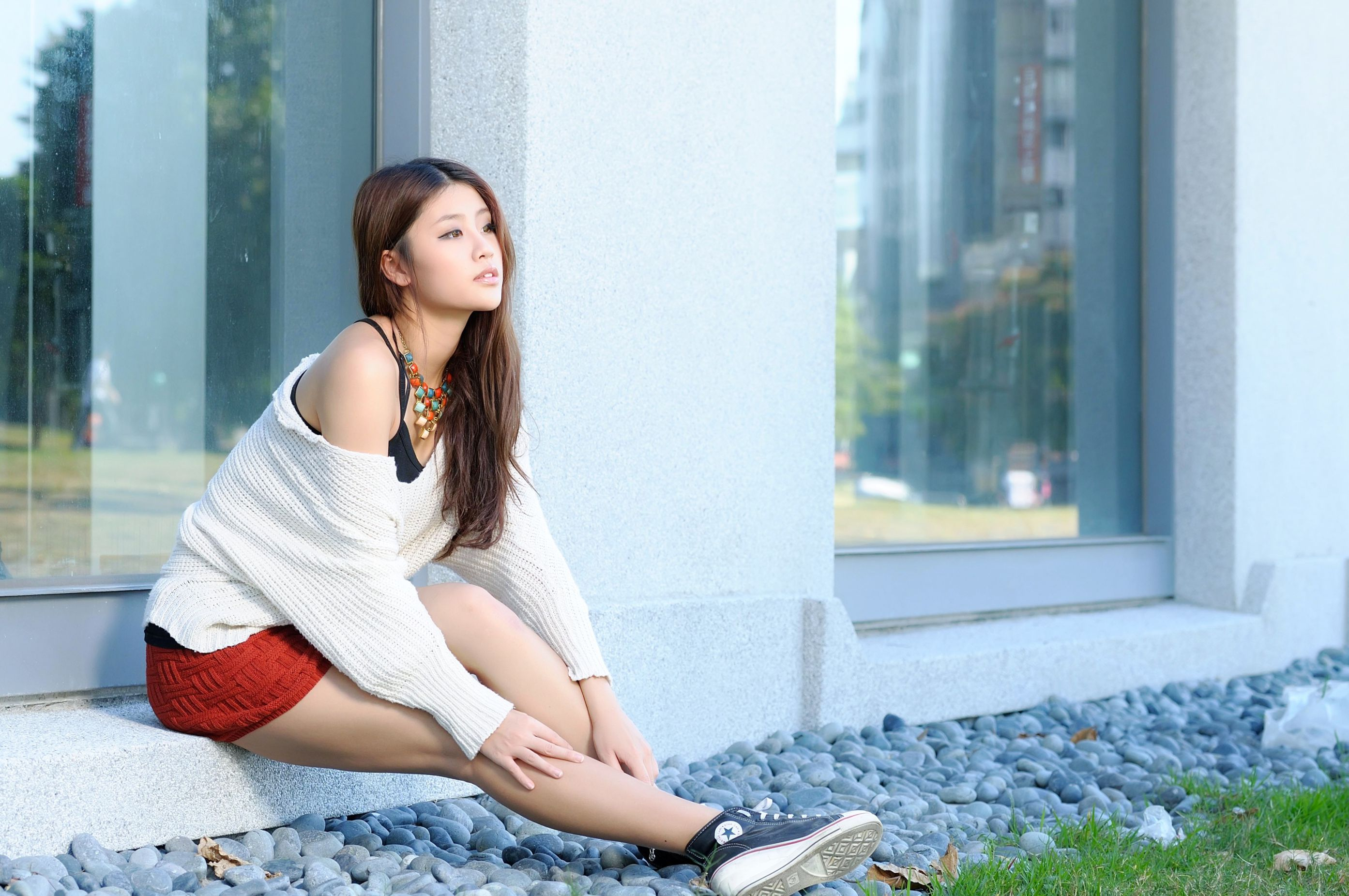 VOL.372 [台湾正妹]气质清新唯美女神:林真亦(Yuna)高品质写真套图(42P)