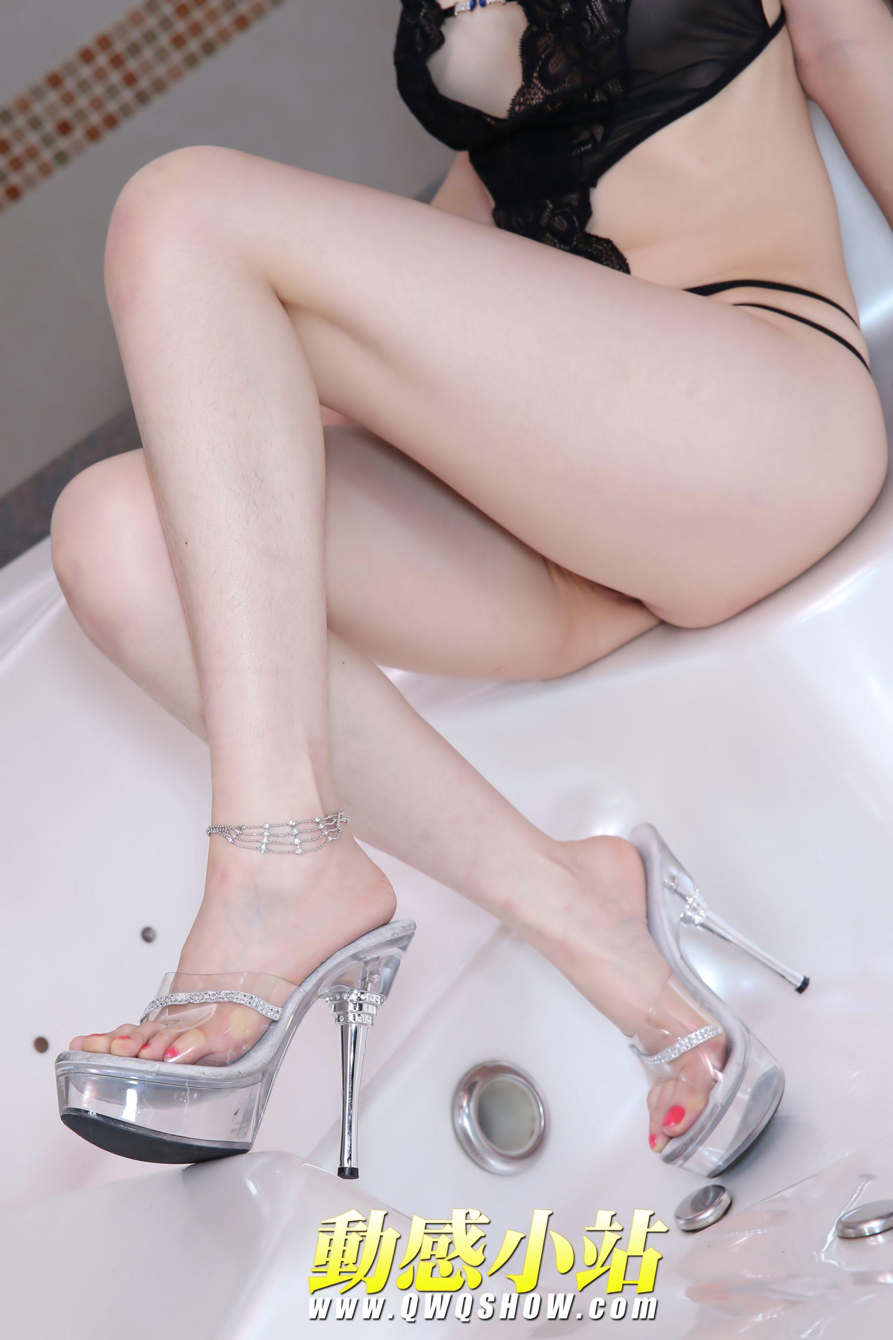 VOL.419 [动感之星]浴室熟女:小玲(动感小站小玲,动感之星小玲)高品质写真套图(14P)