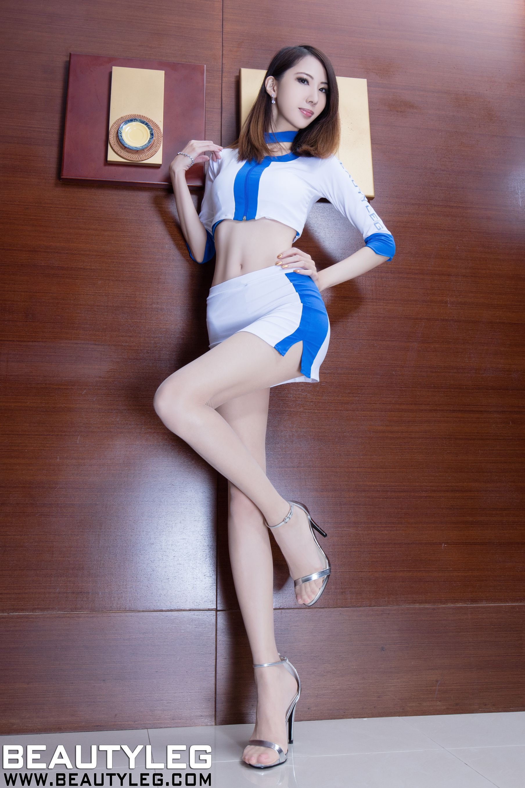 VOL.1538 [Beautyleg]丝袜美女:童采萱(Beautyleg Yoyo,腿模Yoyo)高品质写真套图(54P)
