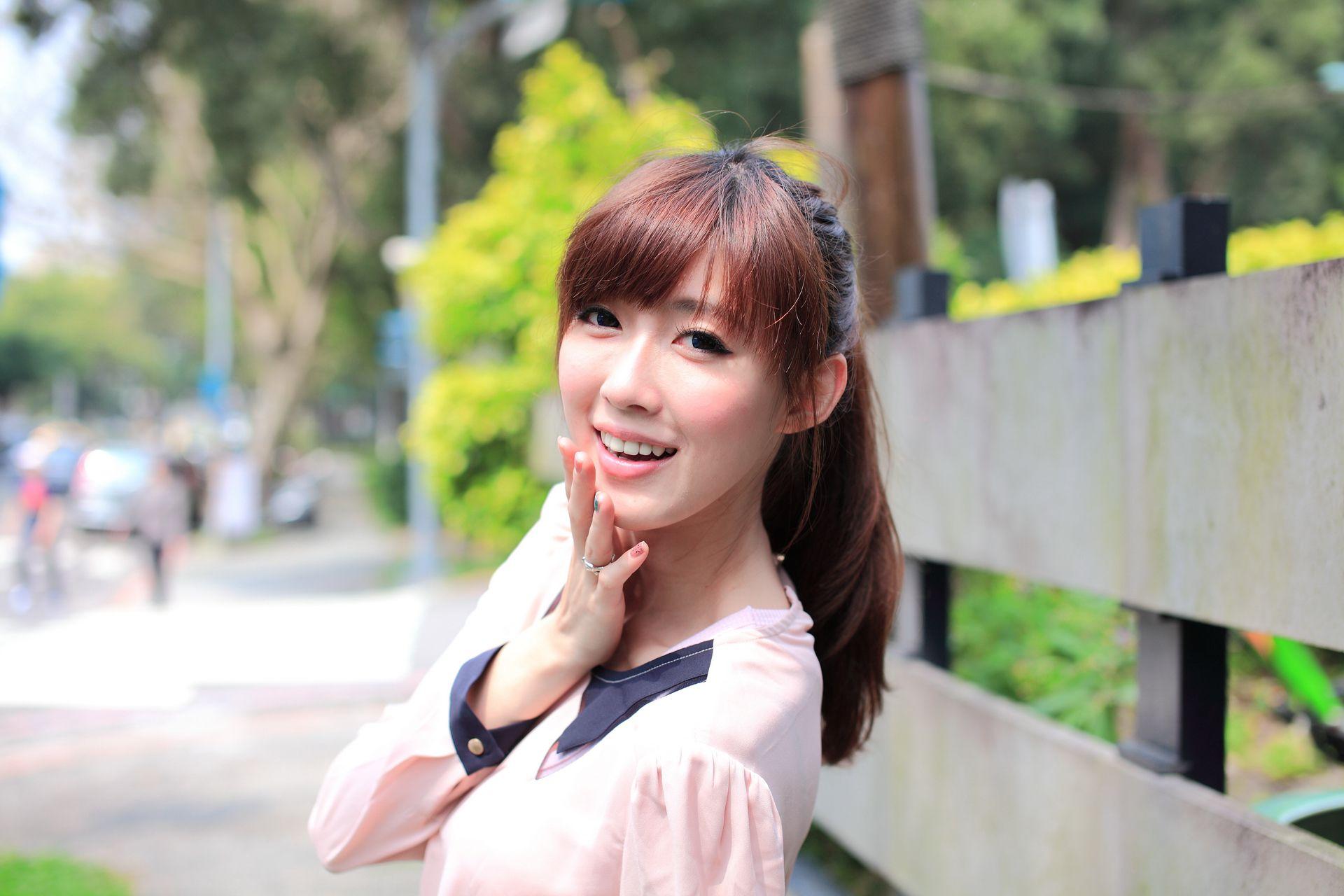VOL.743 [台湾正妹]清新妹子街拍美臀街拍短裙:金允乔(廖挺伶,kila晶晶)高品质写真套图(57P)