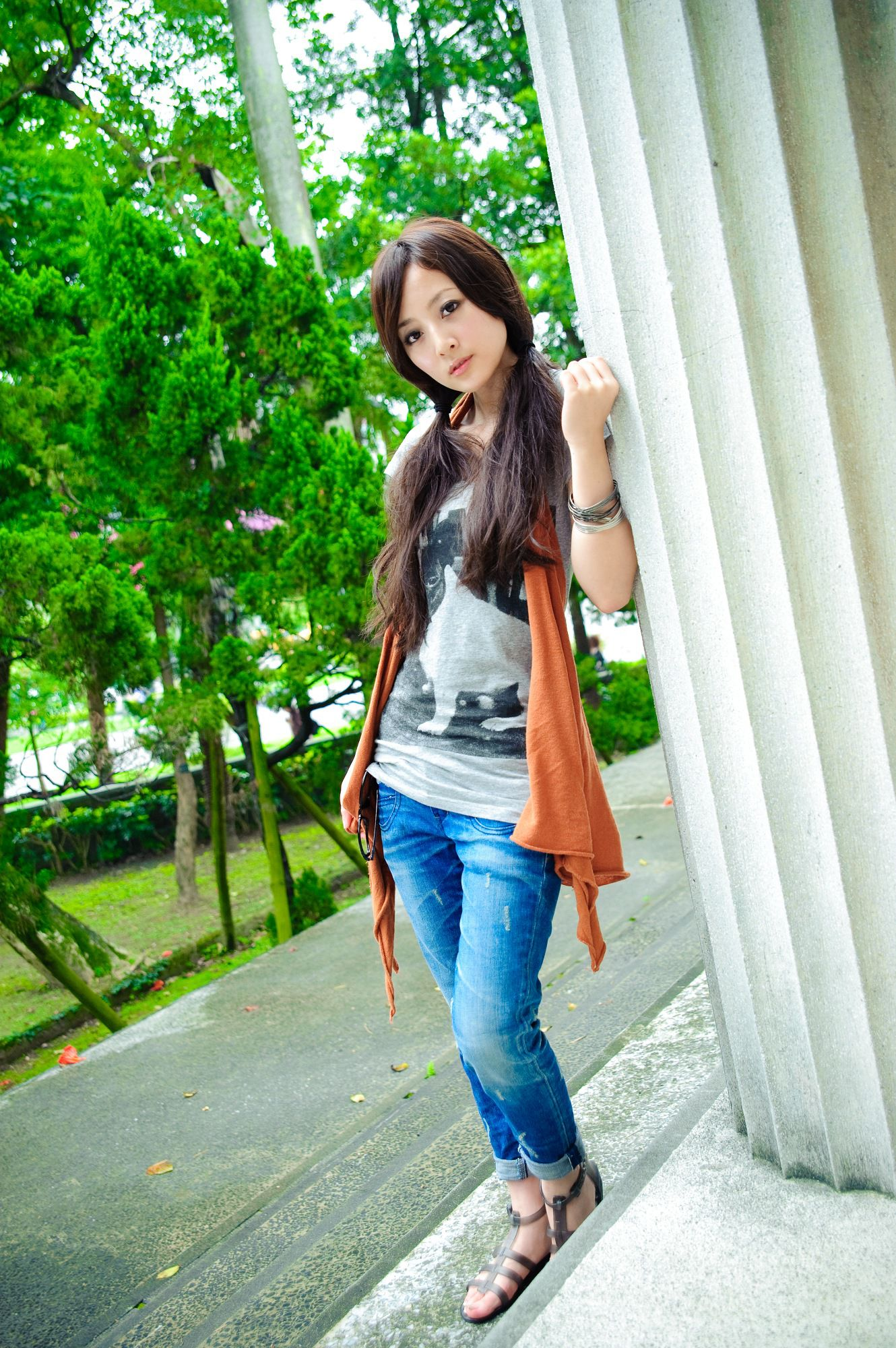 VOL.401 [台湾正妹]可爱清新女友:张凯洁(张允霏,果子MM)高品质写真套图(58P)