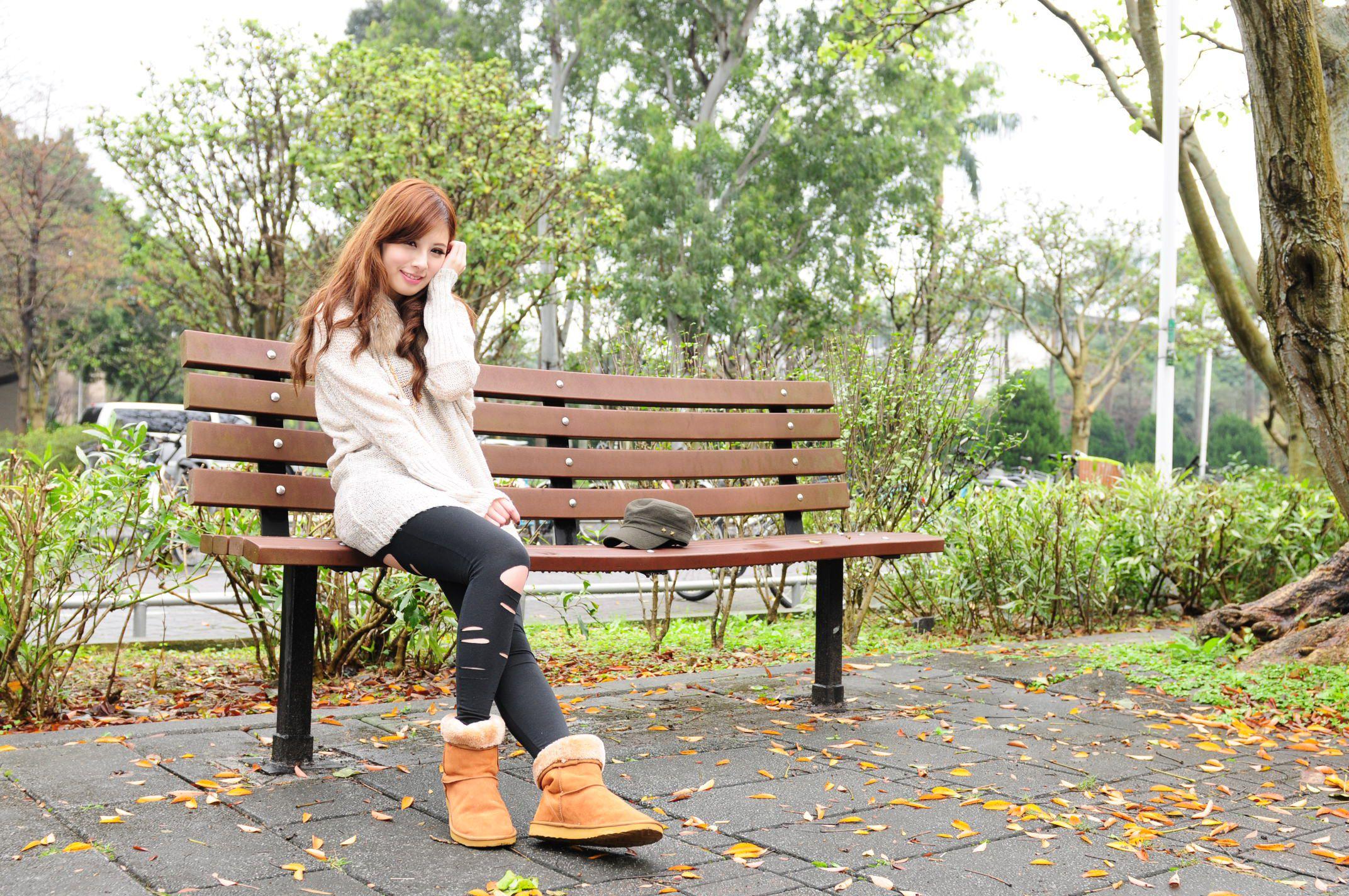 VOL.674 [台湾正妹]清新外拍正妹:小米高品质写真套图(71P)