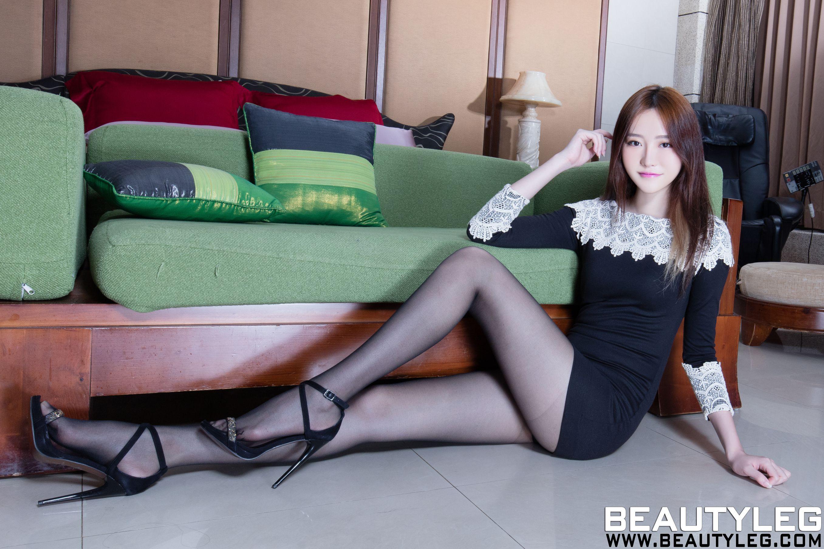 VOL.1712 [Beautyleg]美腿甜美女神:张采宁(腿模Ning)高品质写真套图(46P)