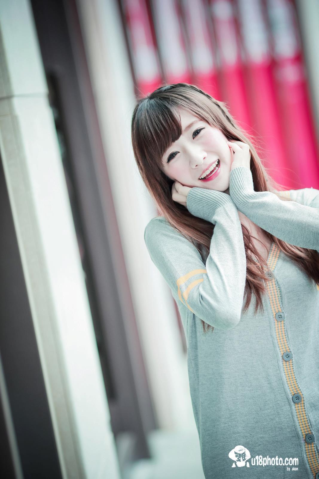 VOL.504 [台湾正妹]可爱清纯甜美萌女长发美女:李思娴高品质写真套图(75P)